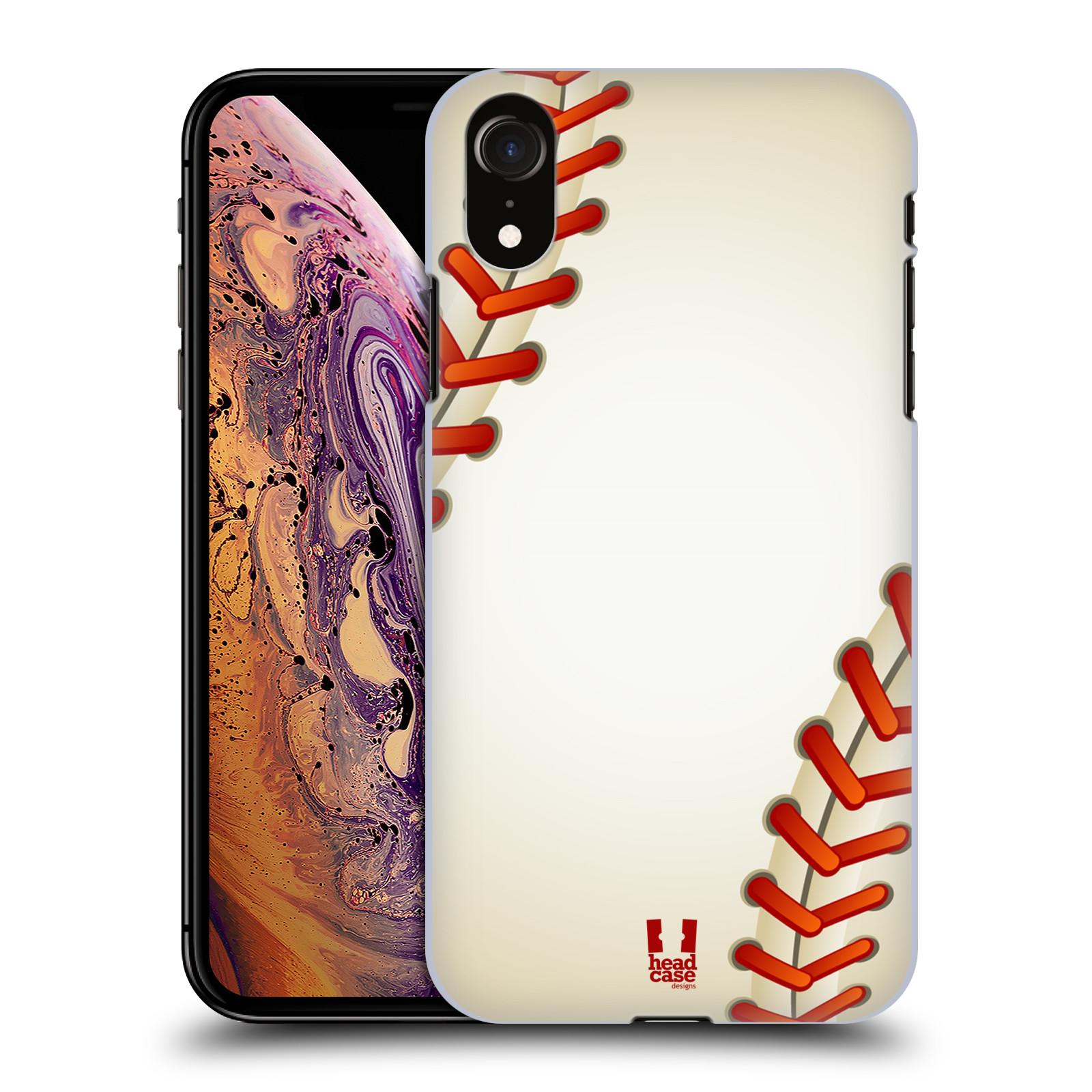 Plastové pouzdro na mobil Apple iPhone XR - Head Case - Baseballový míček