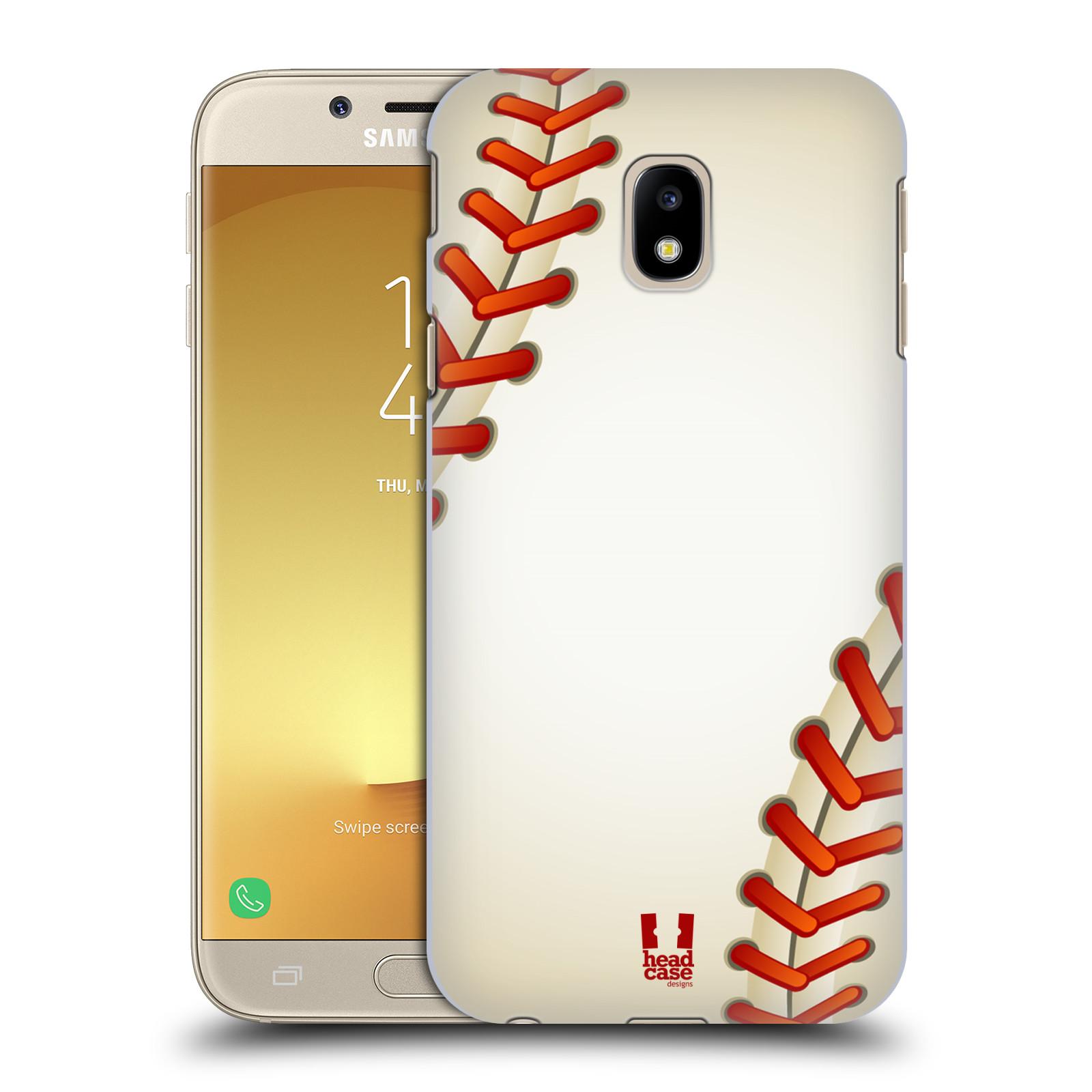 Plastové pouzdro na mobil Samsung Galaxy J3 (2017) - Head Case - Baseballový míček