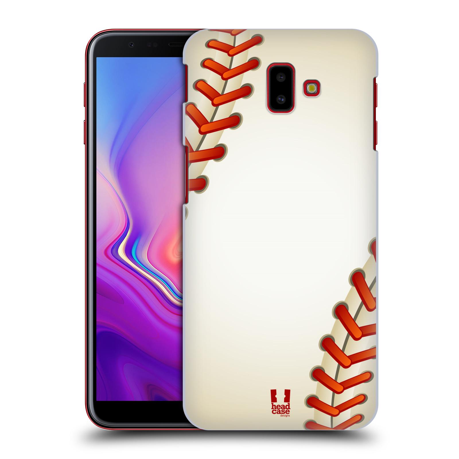 Plastové pouzdro na mobil Samsung Galaxy J6 Plus - Head Case - Baseballový míček