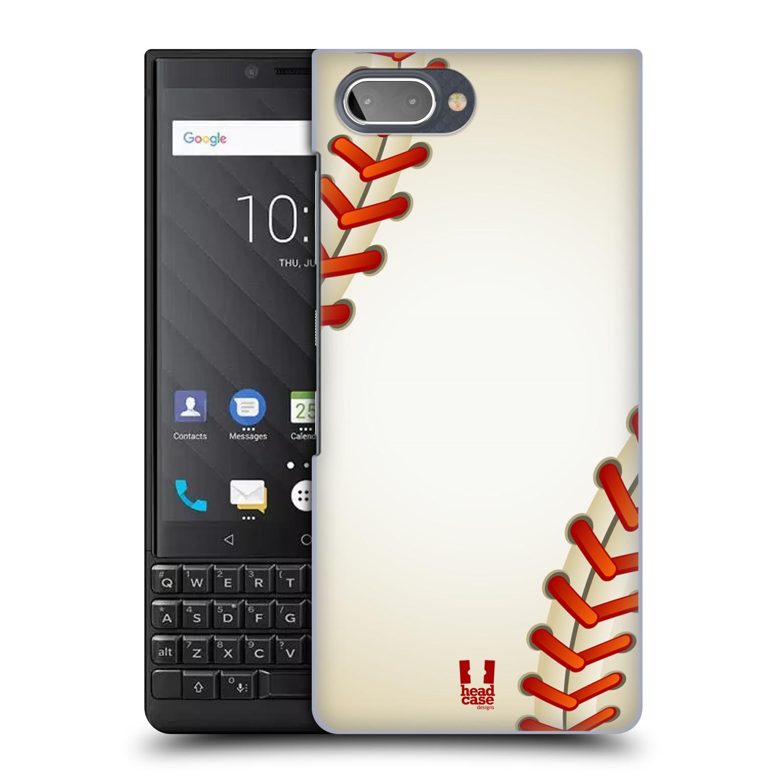 Plastové pouzdro na mobil Blackberry Key 2 - Head Case - Baseballový míček
