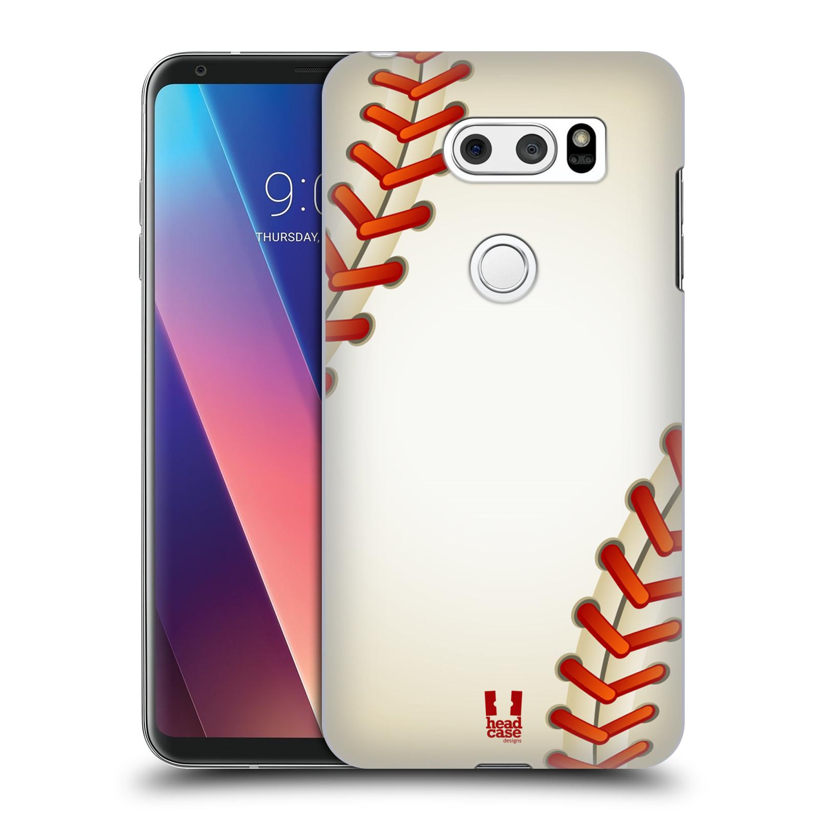 Plastové pouzdro na mobil LG V30 - Head Case - Baseballový míček