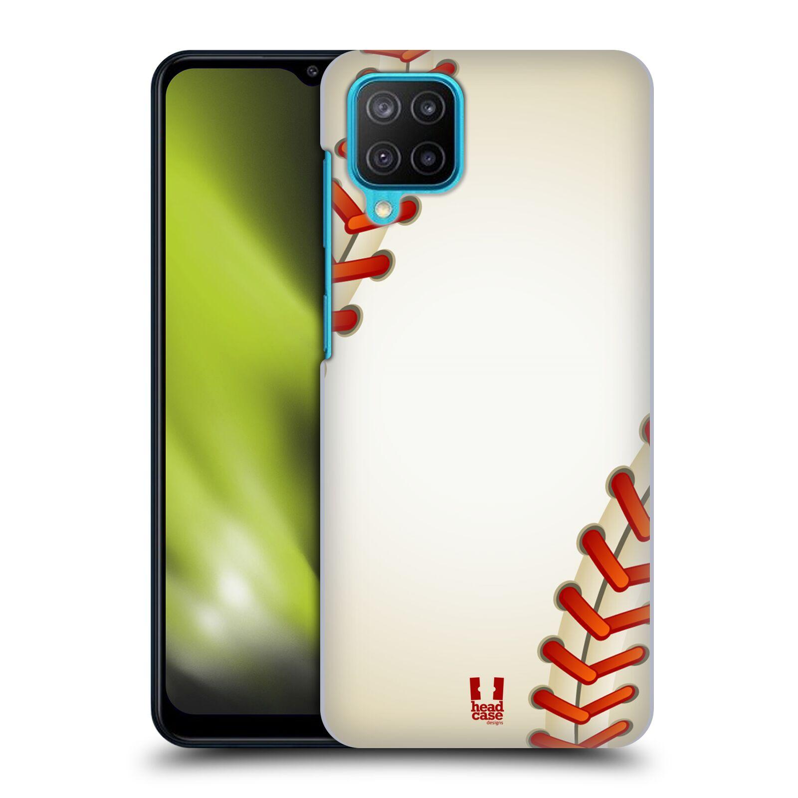 Plastové pouzdro na mobil Samsung Galaxy M12 - Head Case - Baseballový míček