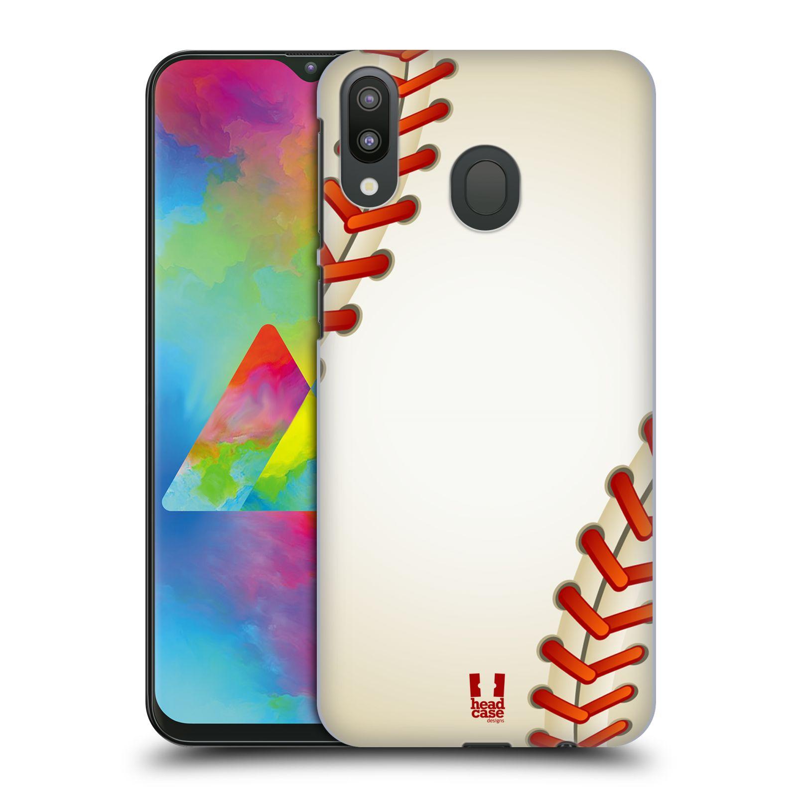 Plastové pouzdro na mobil Samsung Galaxy M20 - Head Case - Baseballový míček
