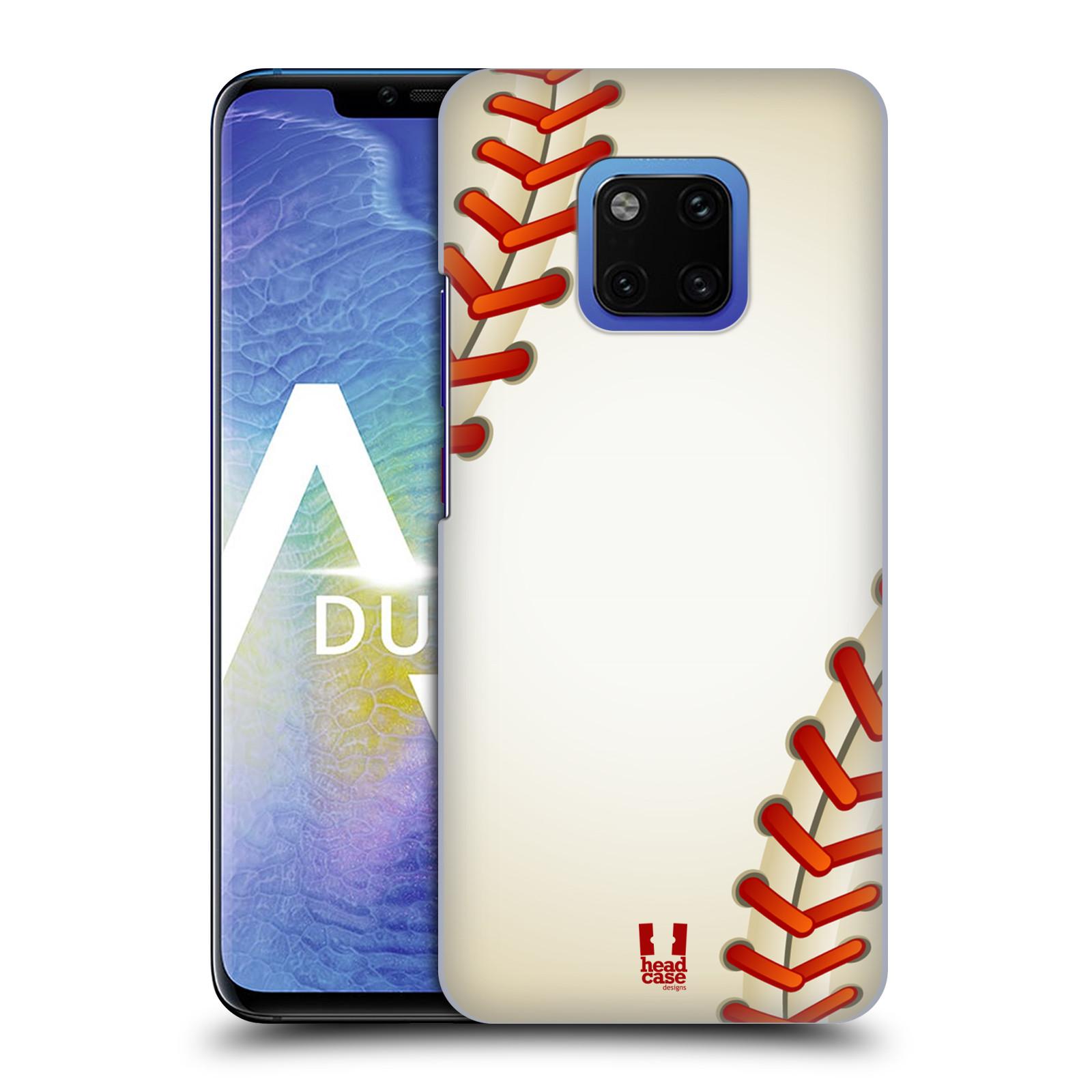Plastové pouzdro na mobil Huawei Mate 20 Pro - Head Case - Baseballový míček