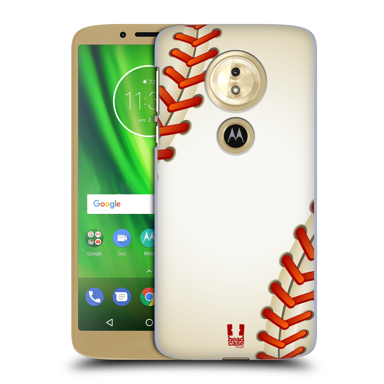 Plastové pouzdro na mobil Motorola Moto G6 Play - Head Case - Baseballový míček