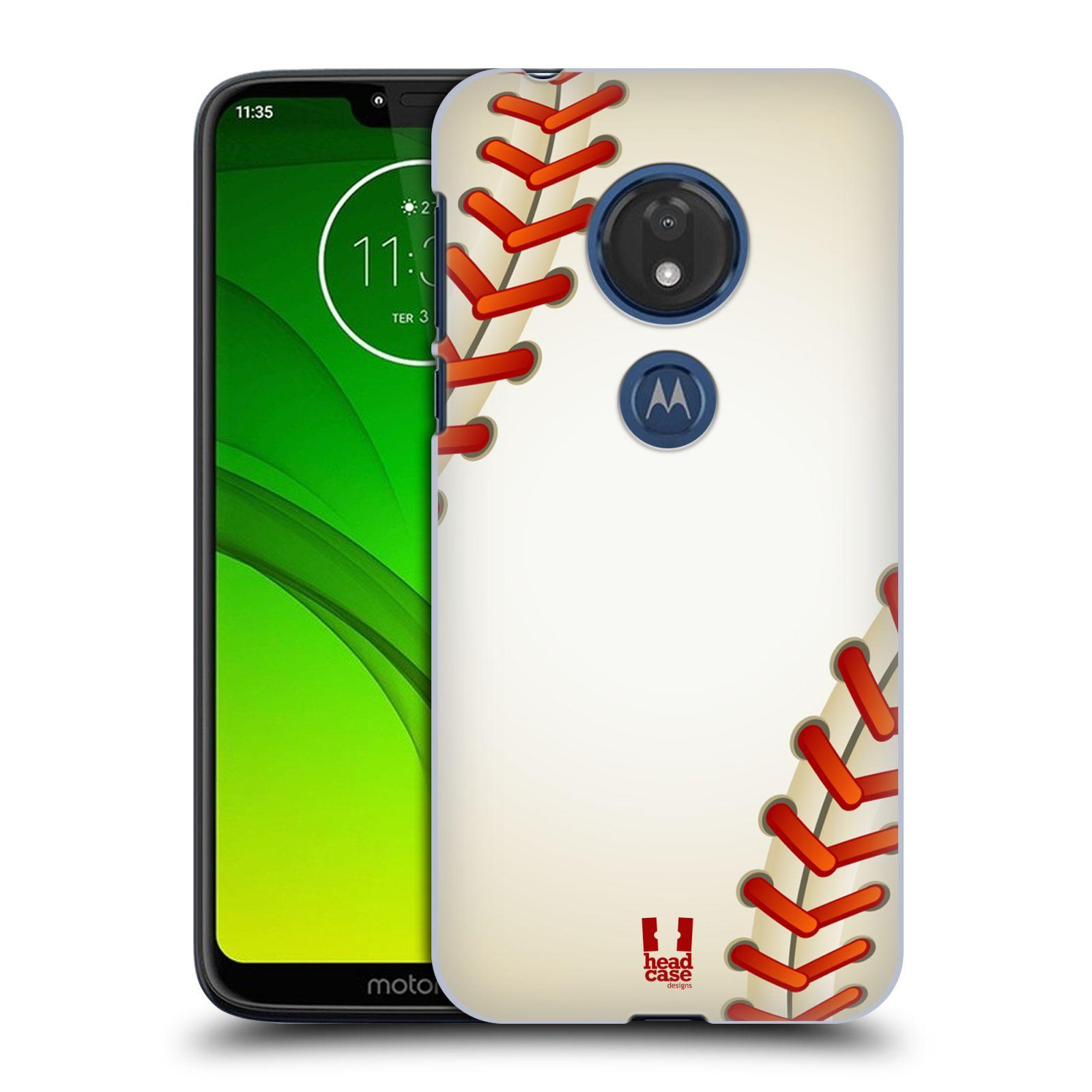 Plastové pouzdro na mobil Motorola Moto G7 Play - Head Case - Baseballový míček