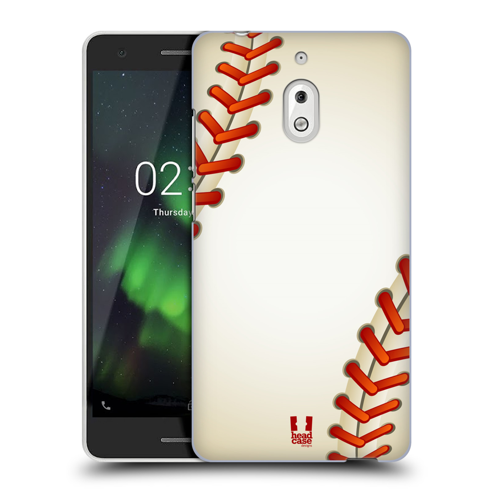 Plastové pouzdro na mobil Nokia 2.1 - Head Case - Baseballový míček