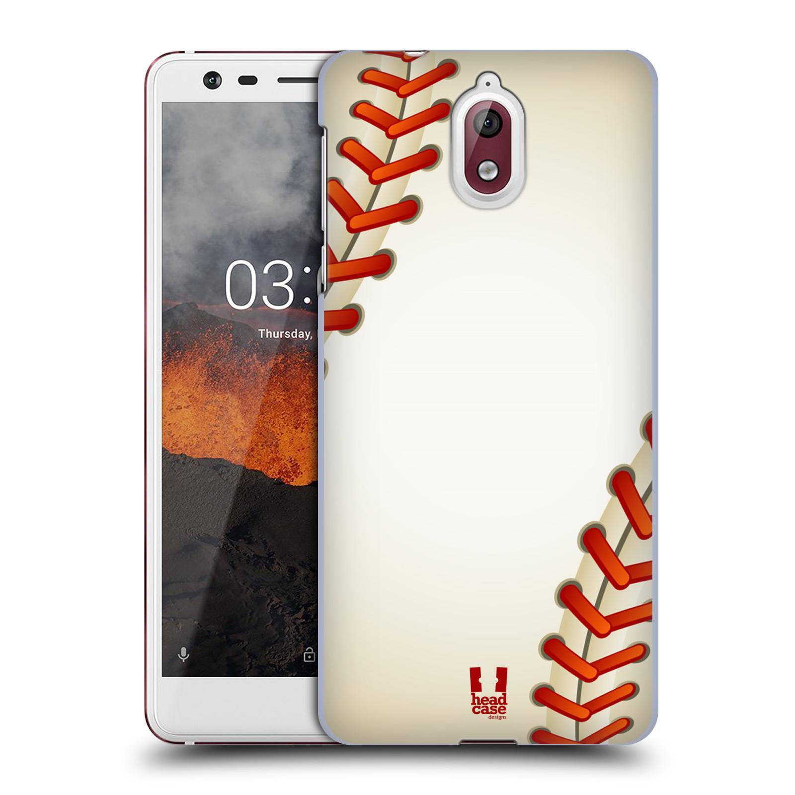 Plastové pouzdro na mobil Nokia 3.1 - Head Case - Baseballový míček