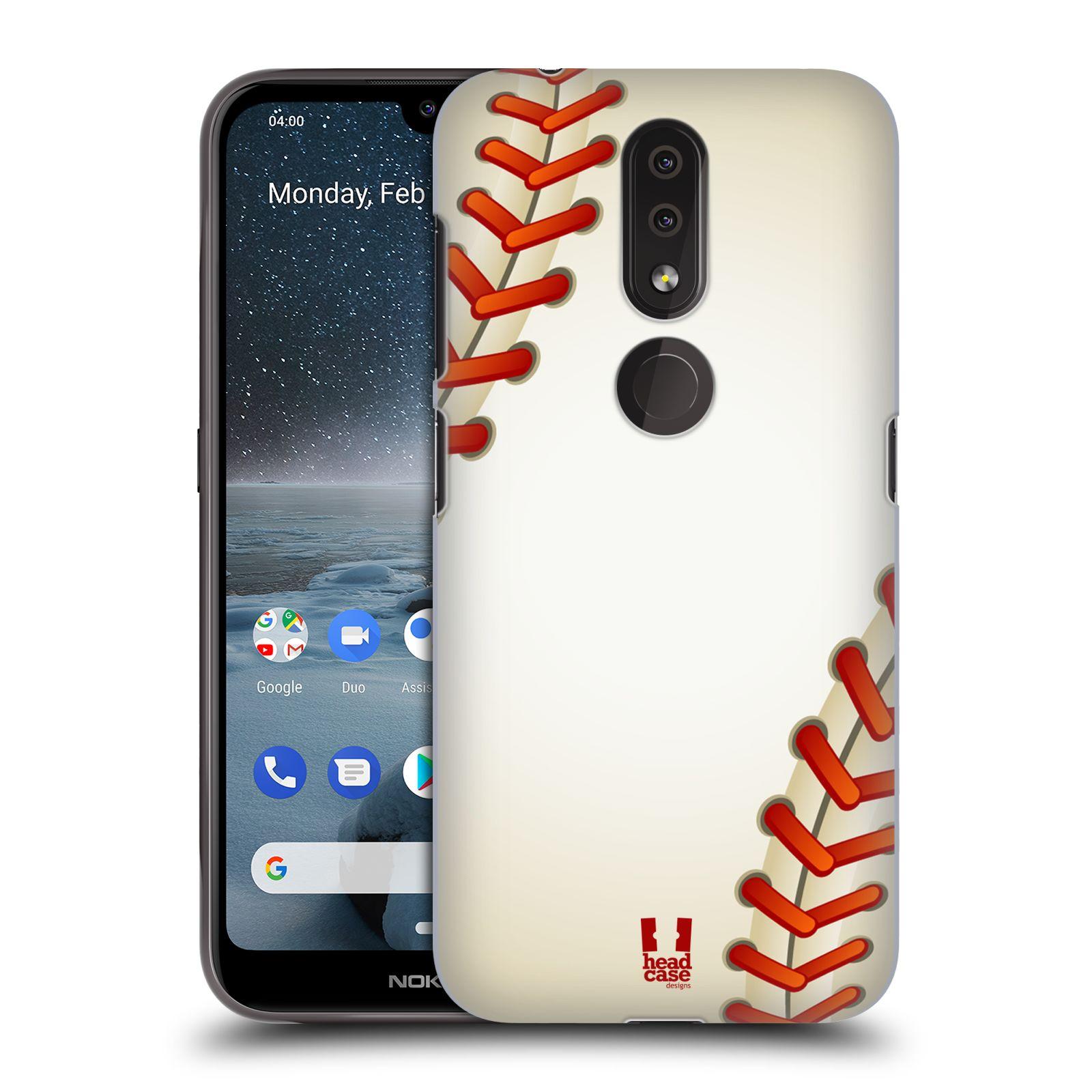 Plastové pouzdro na mobil Nokia 4.2 - Head Case - Baseballový míček