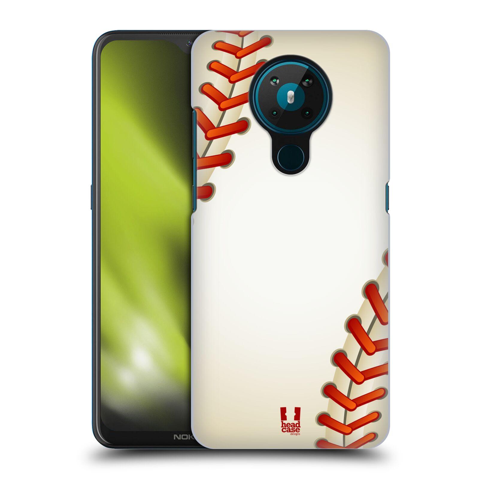 Plastové pouzdro na mobil Nokia 5.3 - Head Case - Baseballový míček