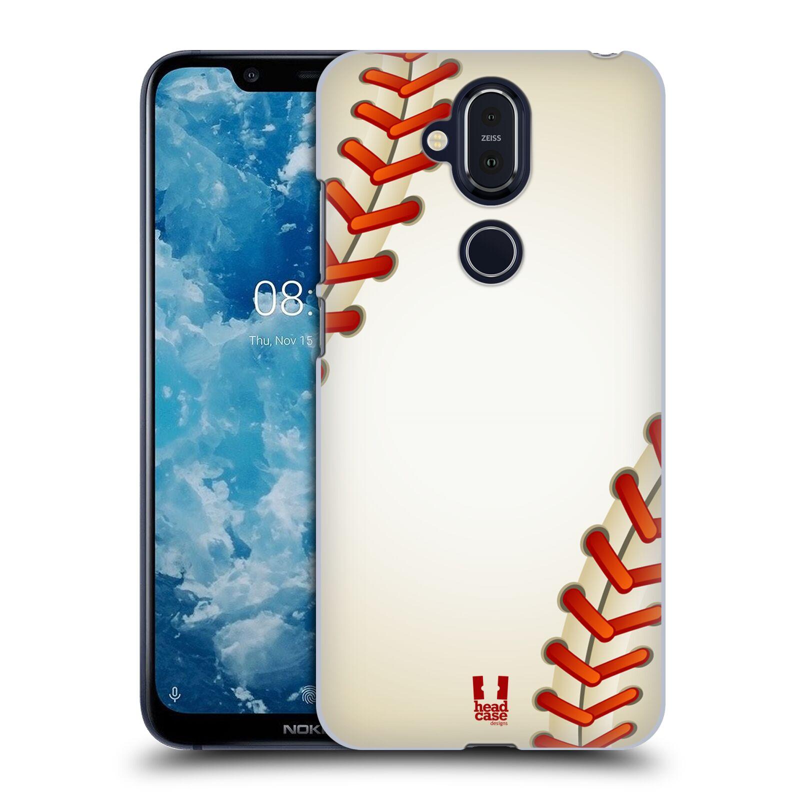 Plastové pouzdro na mobil Nokia 8.1 - Head Case - Baseballový míček