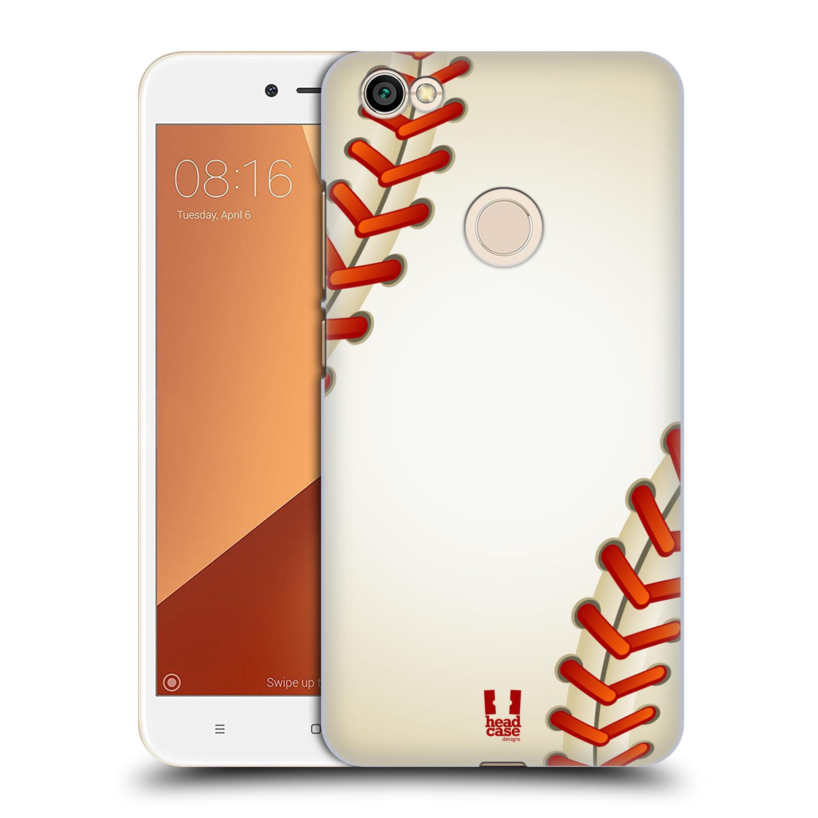 Plastové pouzdro na mobil Xiaomi Redmi Note 5A Prime - Head Case - Baseballový míček
