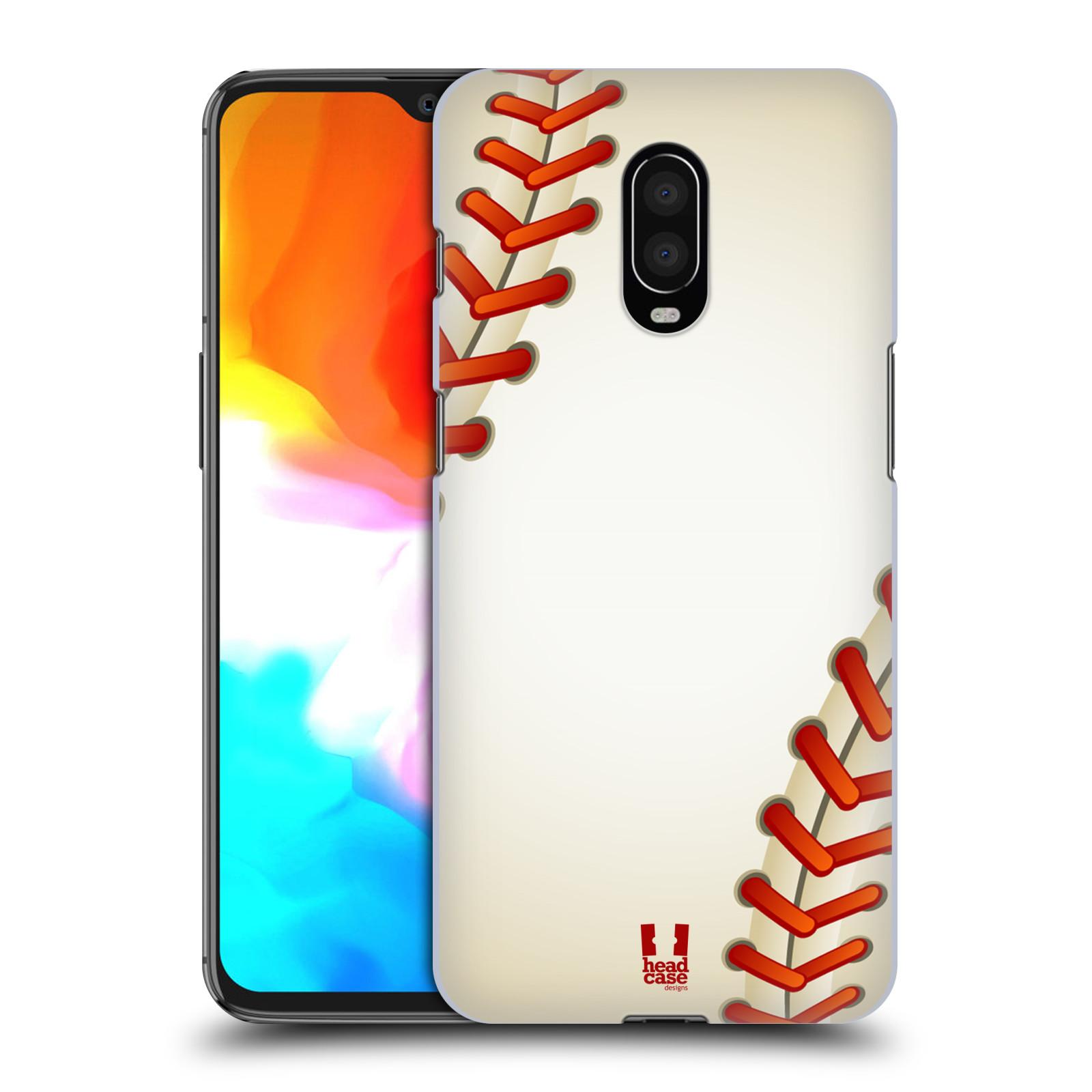 Plastové pouzdro na mobil OnePlus 6T - Head Case - Baseballový míček