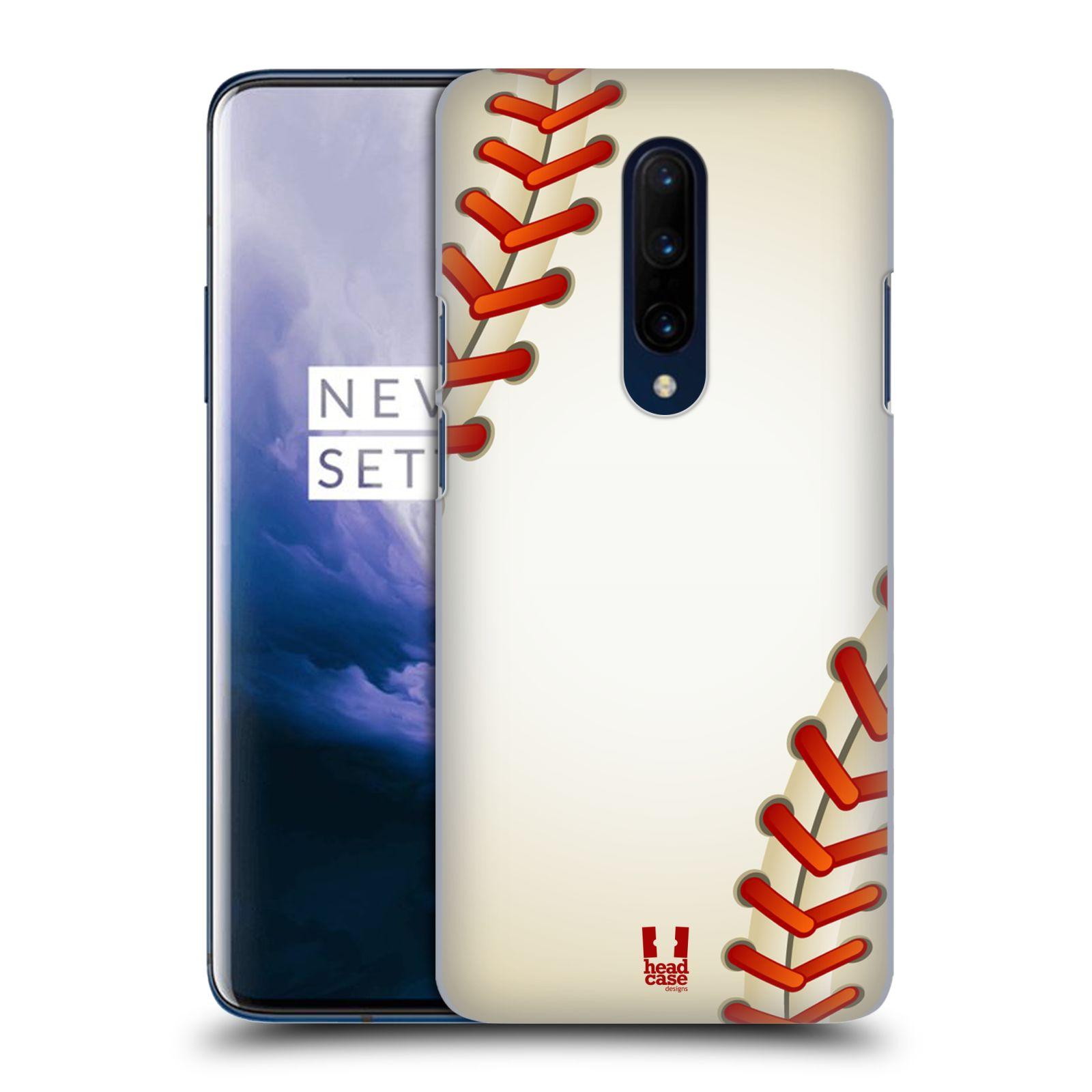 Plastové pouzdro na mobil OnePlus 7 Pro - Head Case - Baseballový míček