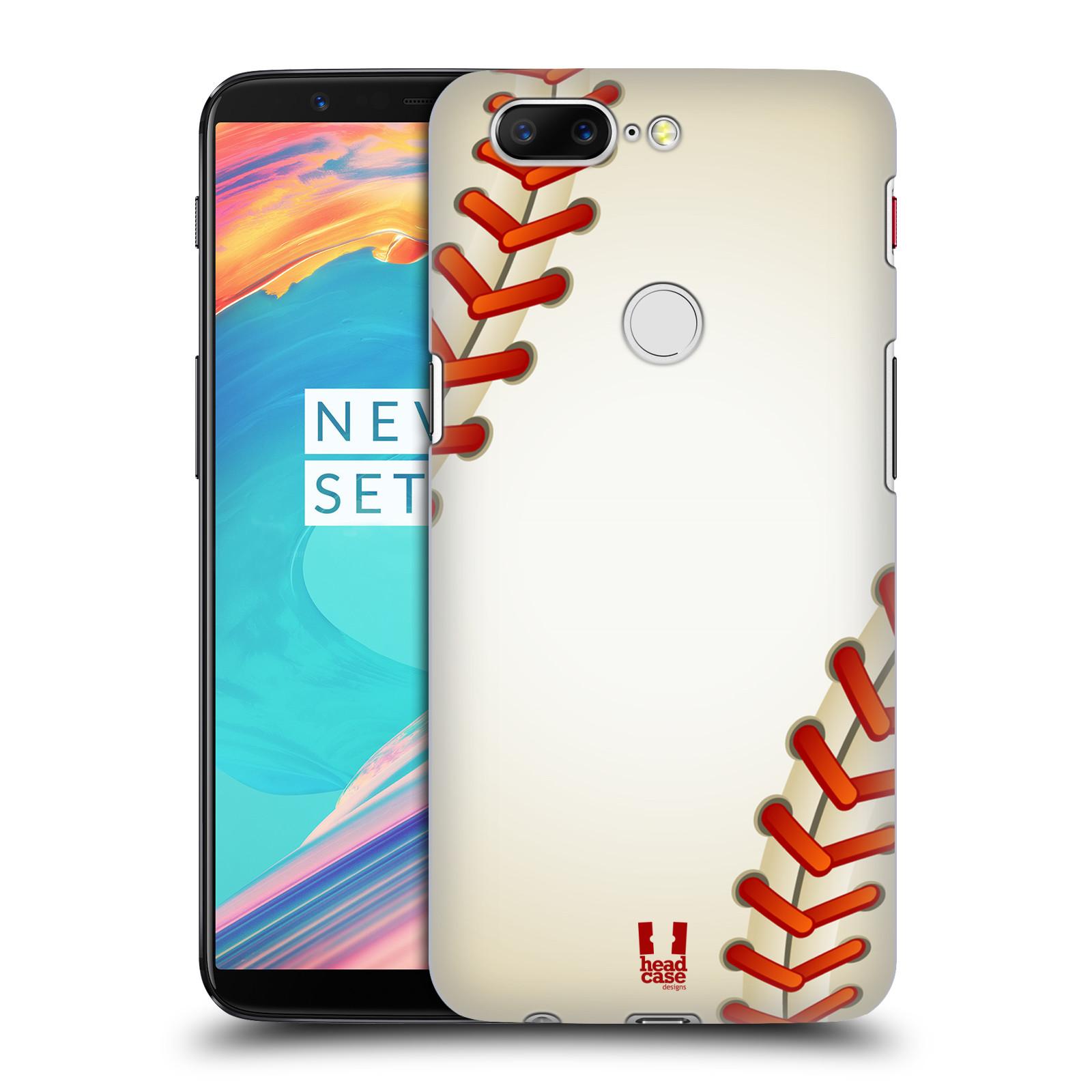 Plastové pouzdro na mobil OnePlus 5T - Head Case - Baseballový míček