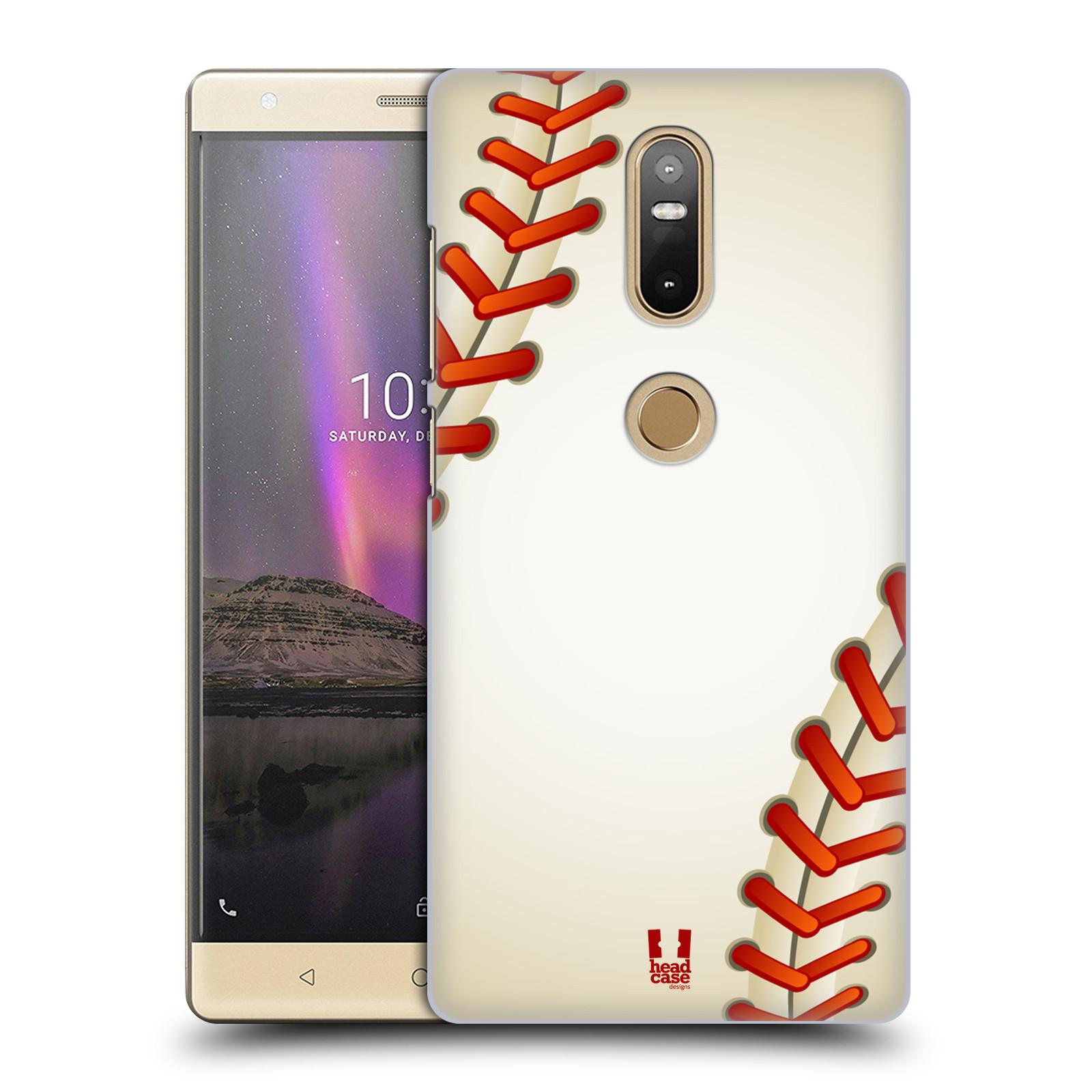 Plastové pouzdro na mobil Lenovo Phab 2 Plus - Head Case - Baseballový míček