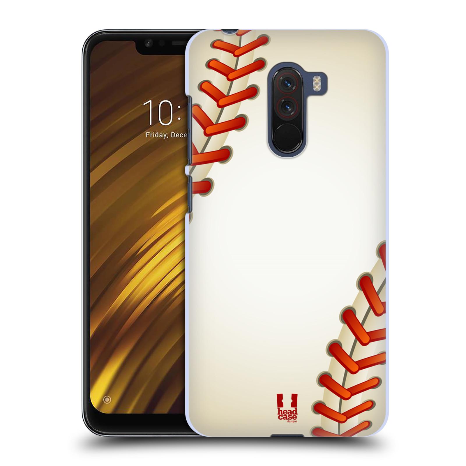 Plastové pouzdro na mobil Xiaomi Pocophone F1 - Head Case - Baseballový míček