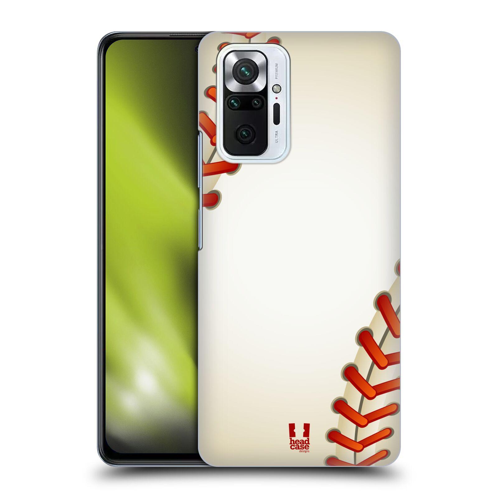 Plastové pouzdro na mobil Xiaomi Redmi Note 10 Pro - Head Case - Baseballový míček