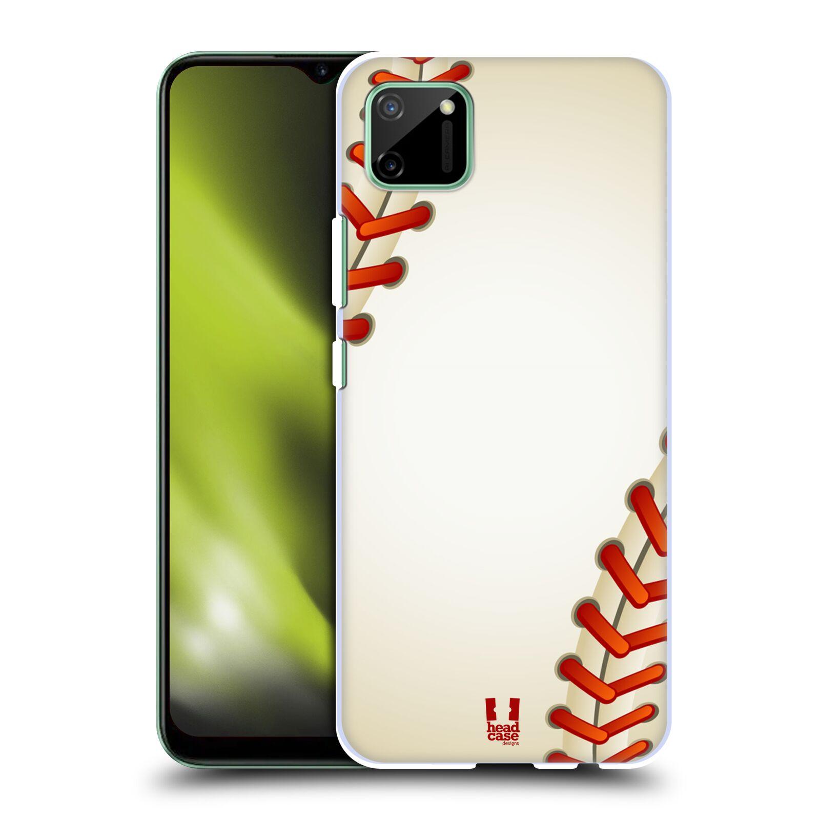 Plastové pouzdro na mobil Realme C11 - Head Case - Baseballový míček