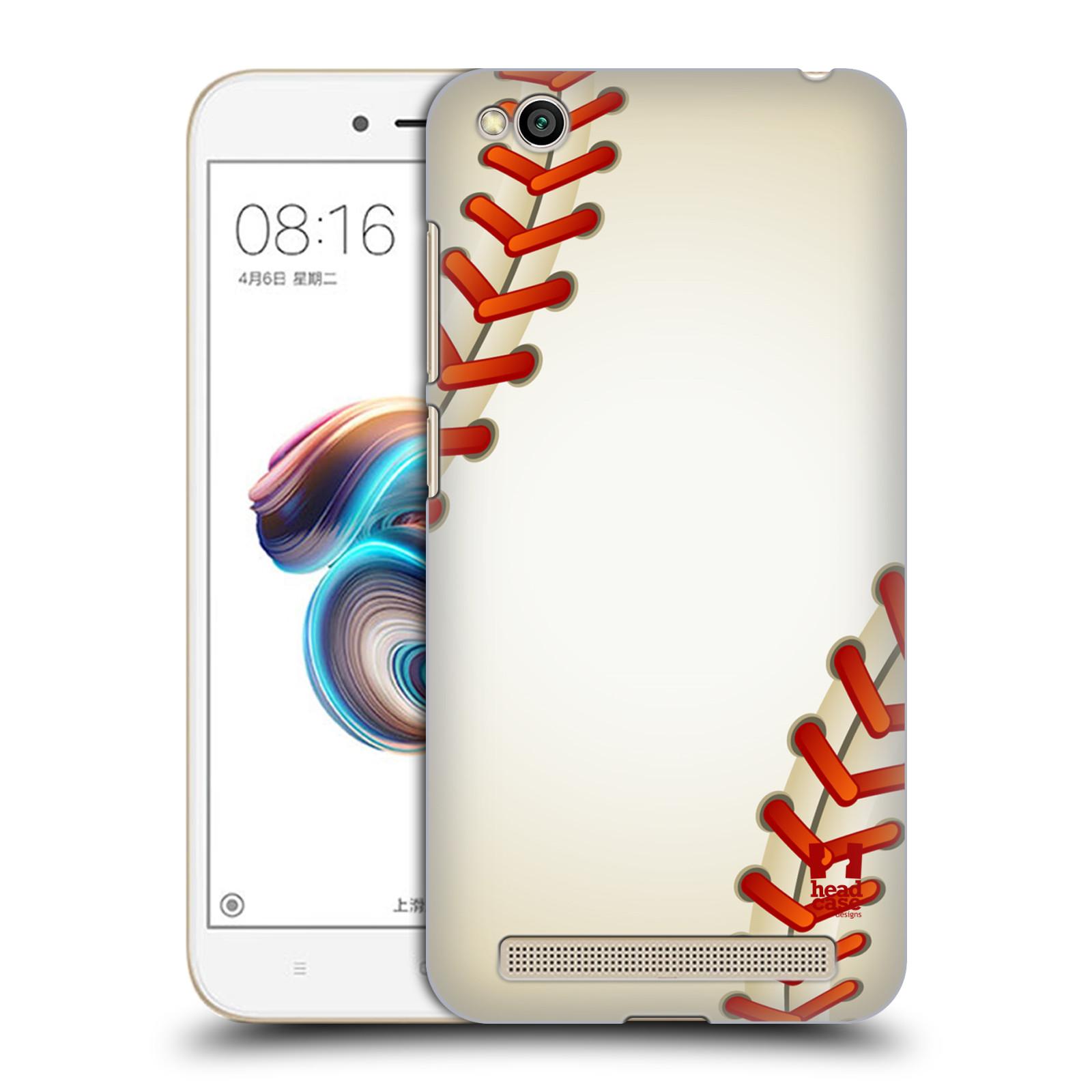 Plastové pouzdro na mobil Xiaomi Redmi 5A - Head Case - Baseballový míček