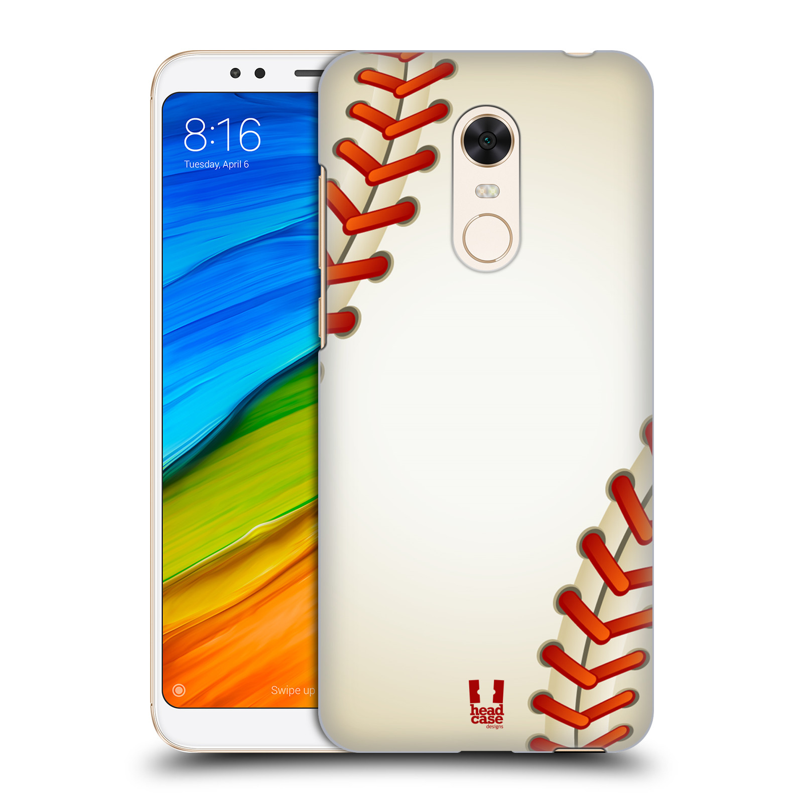 Plastové pouzdro na mobil Xiaomi Redmi 5 Plus - Head Case - Baseballový míček
