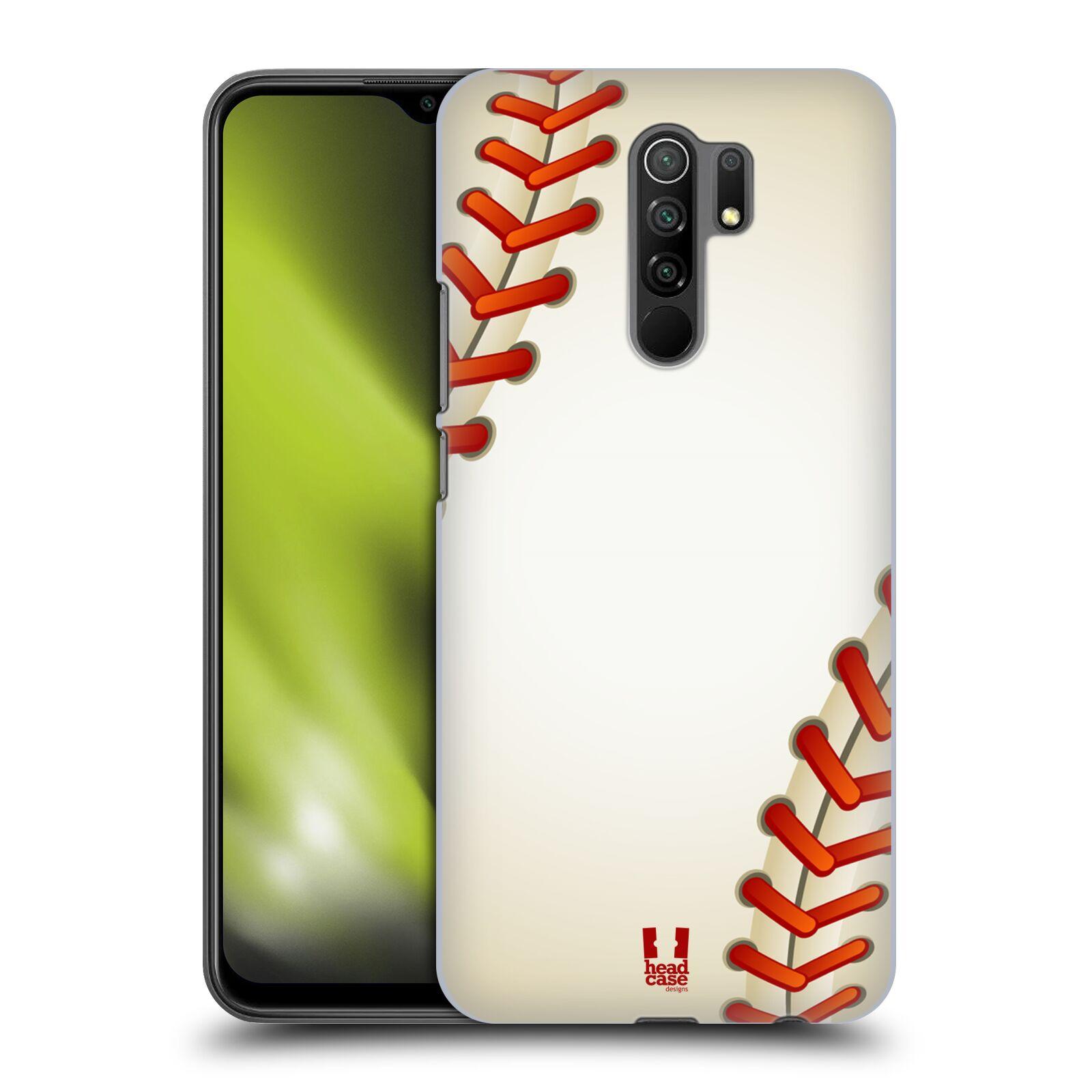 Plastové pouzdro na mobil Xiaomi Redmi 9 - Head Case - Baseballový míček