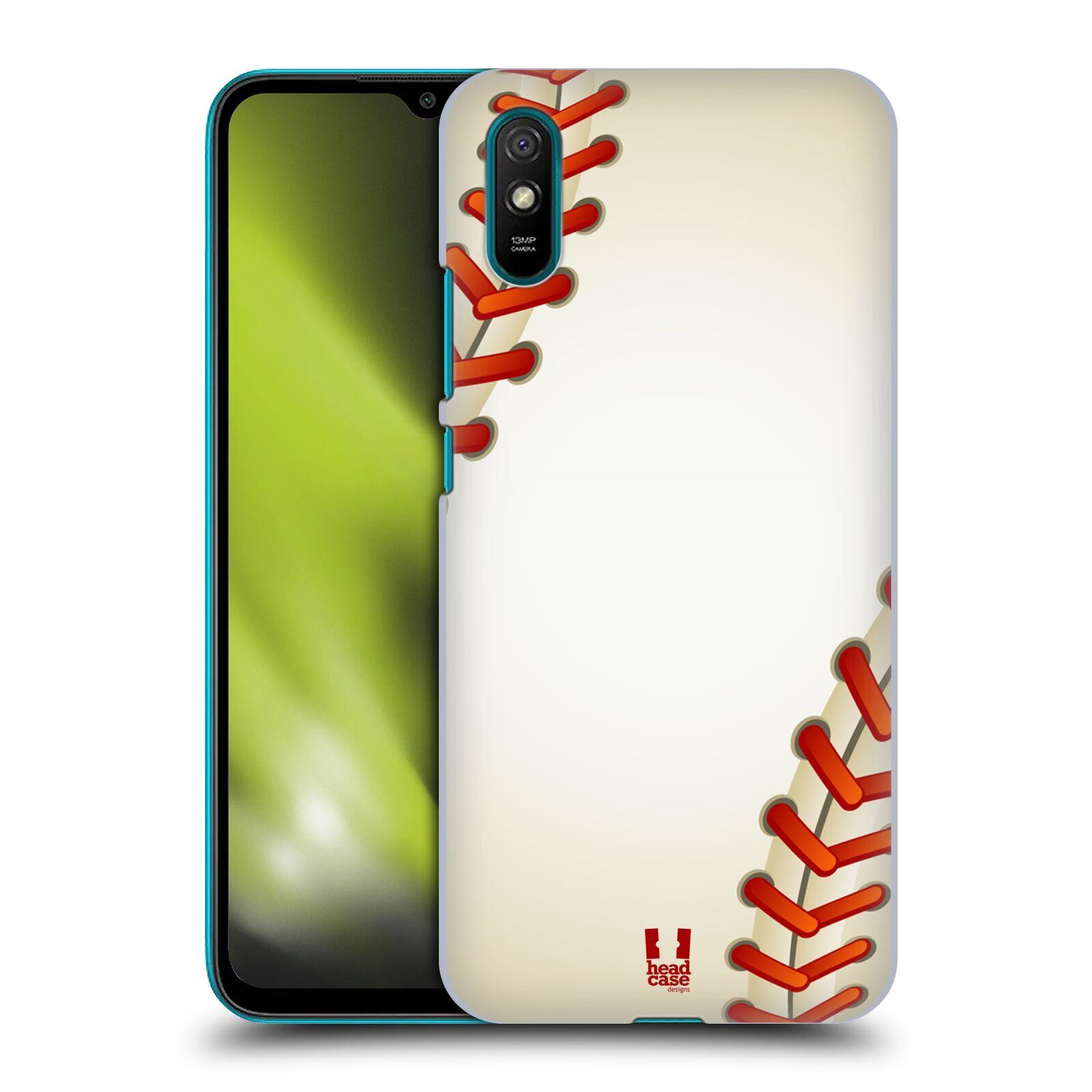 Plastové pouzdro na mobil Xiaomi Redmi 9A / Xiaomi Redmi 9AT - Head Case - Baseballový míček