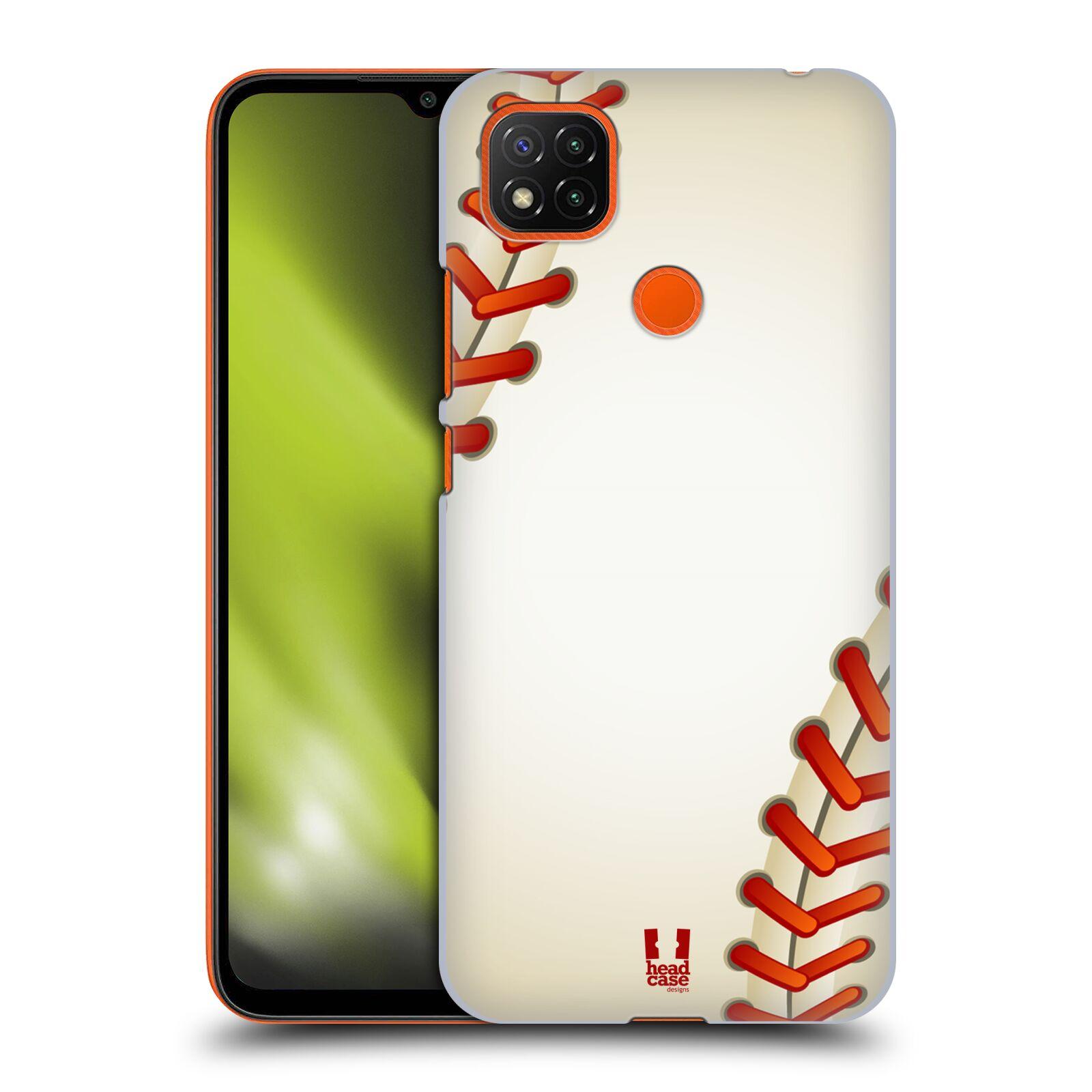 Plastové pouzdro na mobil Xiaomi Redmi 9C - Head Case - Baseballový míček