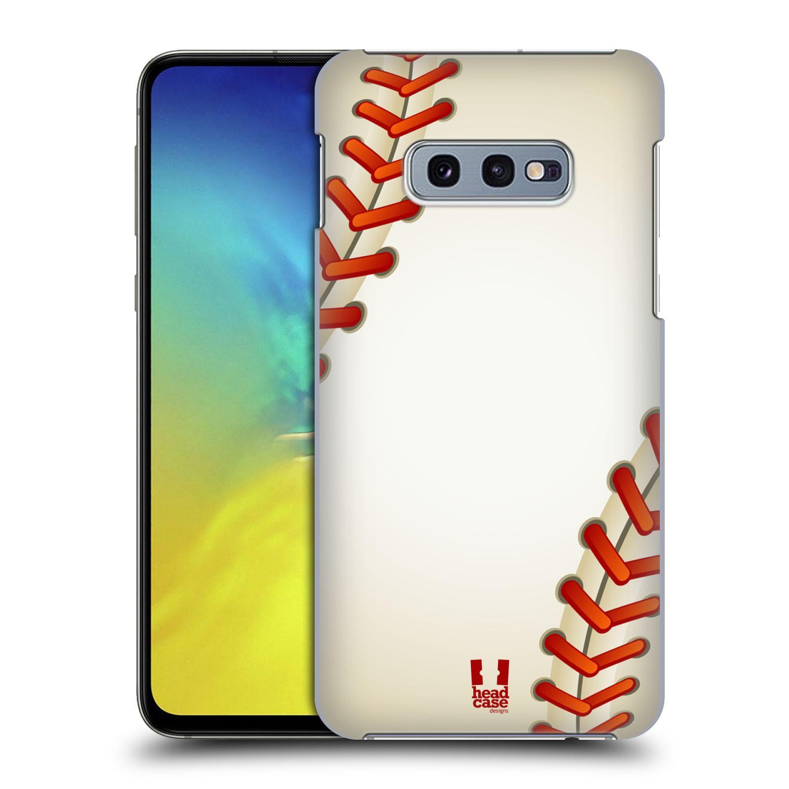 Plastové pouzdro na mobil Samsung Galaxy S10e - Head Case - Baseballový míček