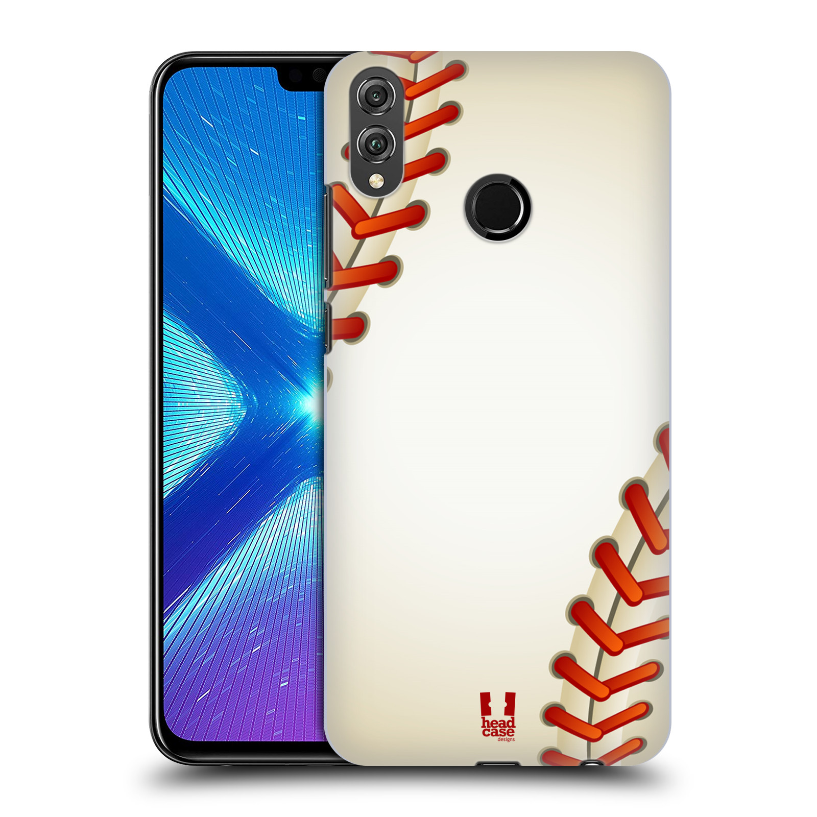 Plastové pouzdro na mobil Honor 8X - Head Case - Baseballový míček