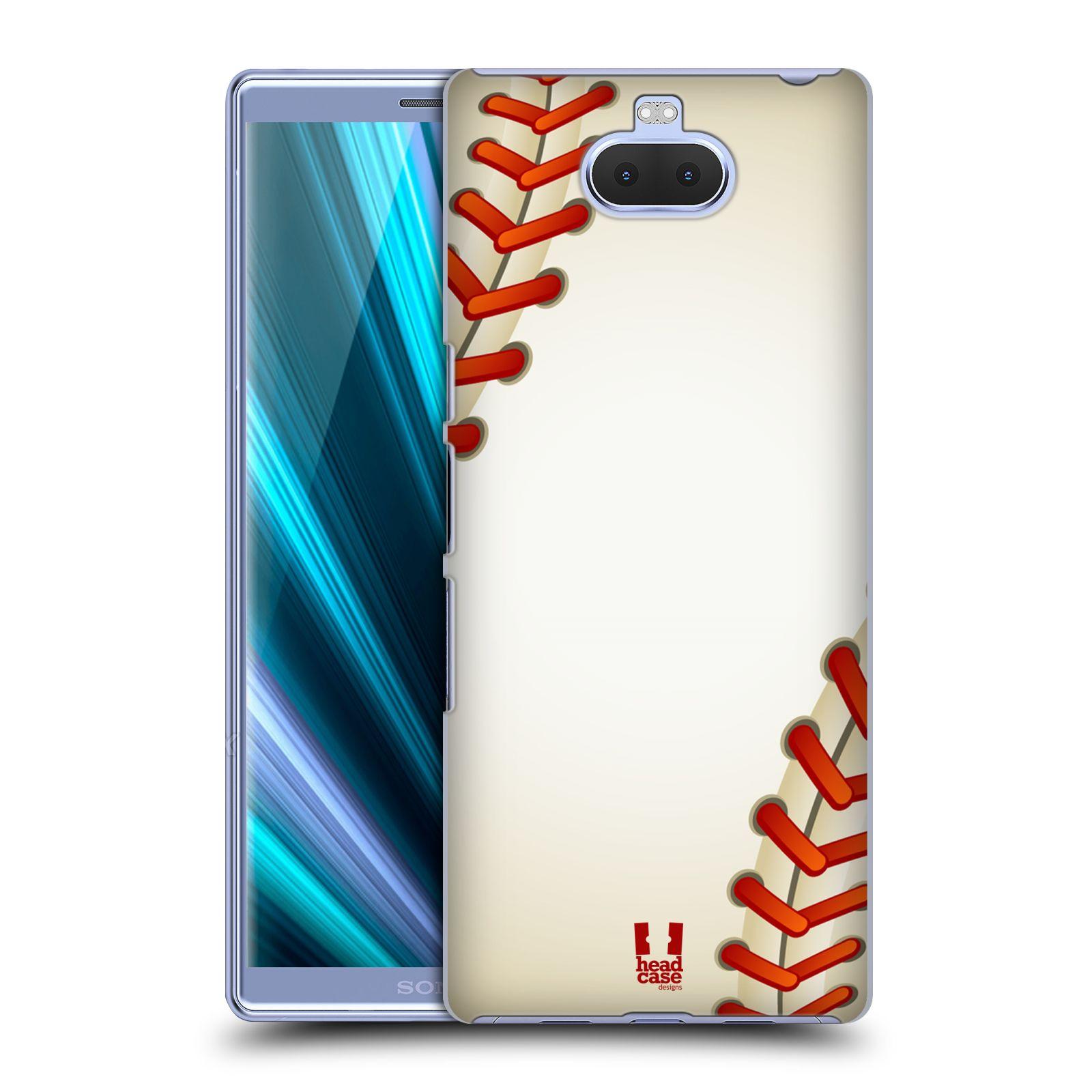 Plastové pouzdro na mobil Sony Xperia 10 - Head Case - Baseballový míček