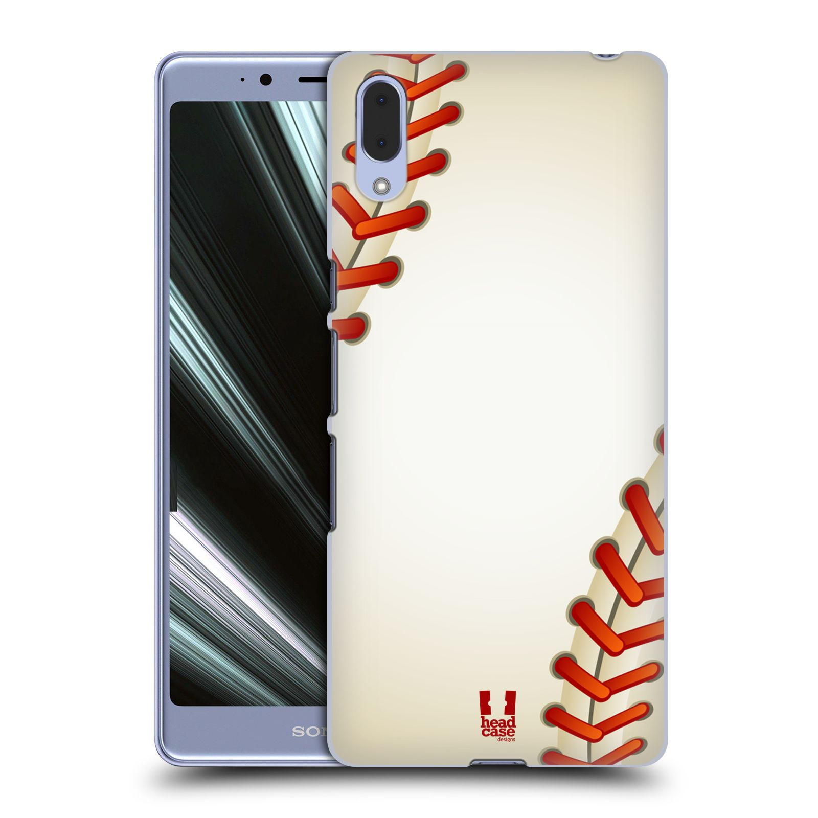 Plastové pouzdro na mobil Sony Xperia L3 - Head Case - Baseballový míček