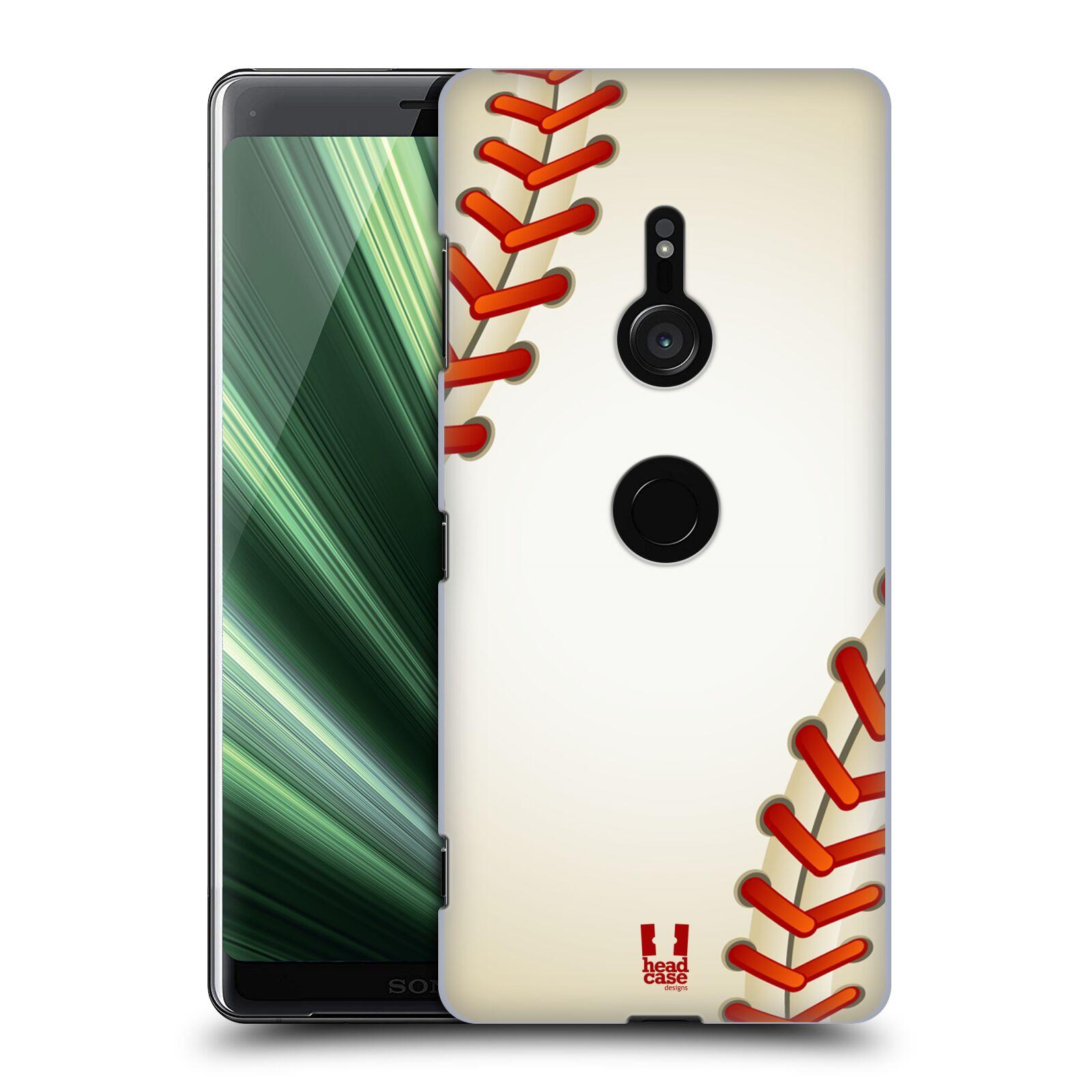 Plastové pouzdro na mobil Sony Xperia XZ3 - Head Case - Baseballový míček