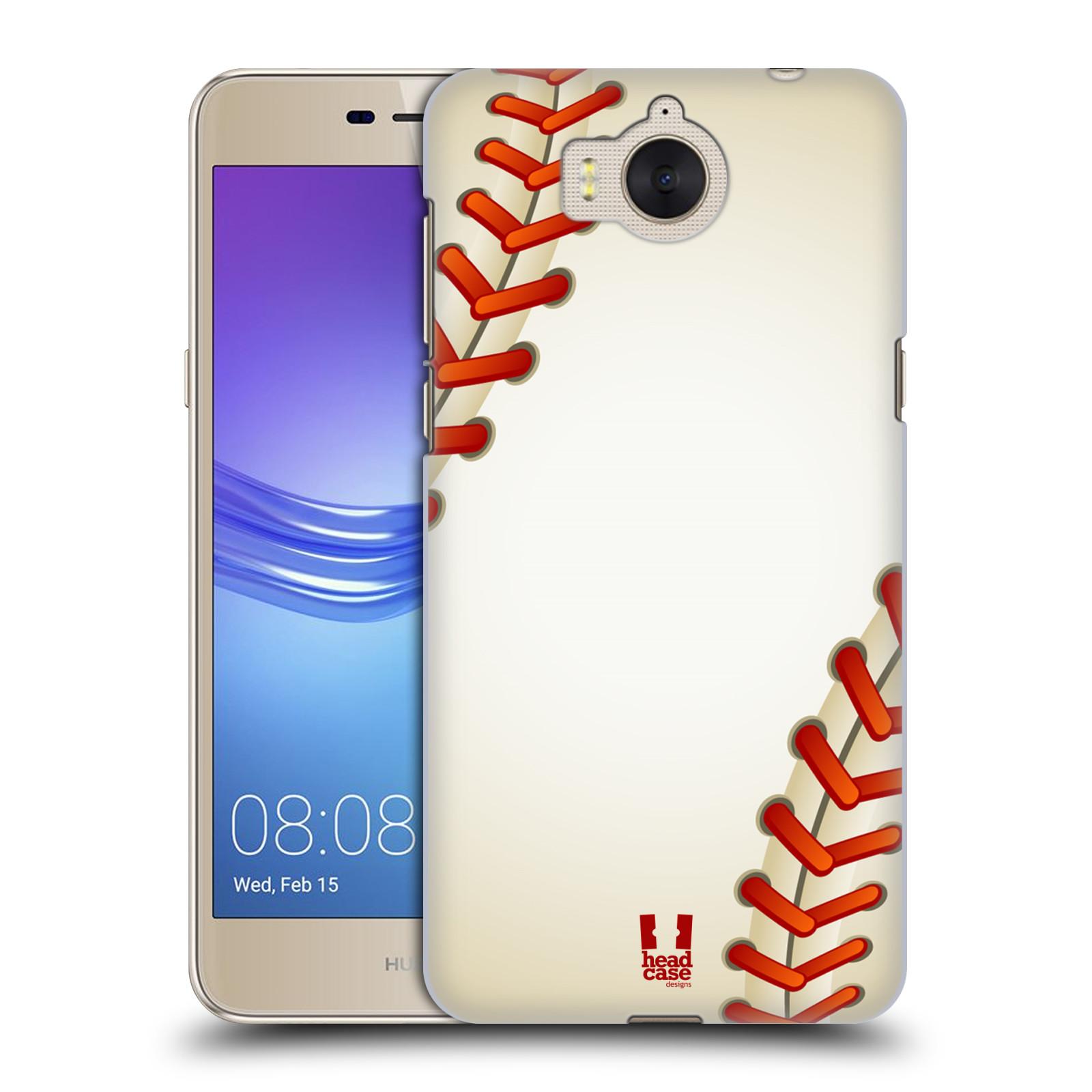 Plastové pouzdro na mobil Huawei Y6 2017 - Head Case - Baseballový míček