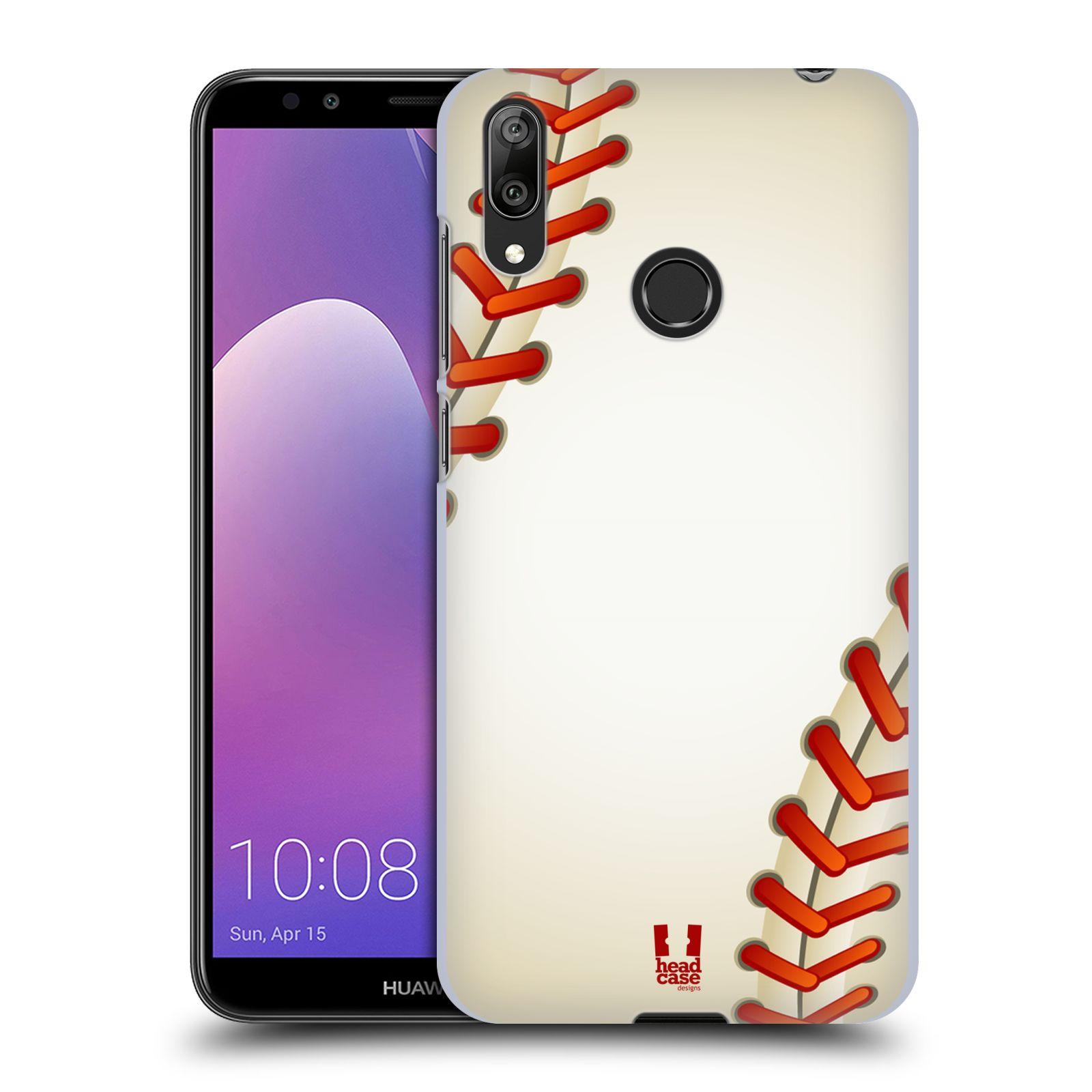 Plastové pouzdro na mobil Huawei Y7 (2019) - Head Case - Baseballový míček