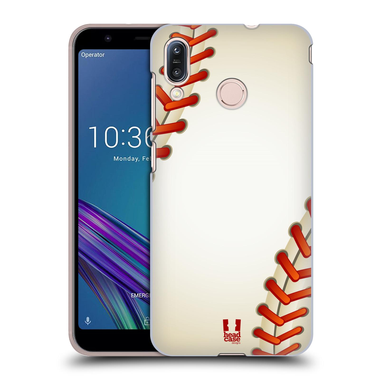 Plastové pouzdro na mobil Asus Zenfone Max M1 ZB555KL - Head Case - Baseballový míček