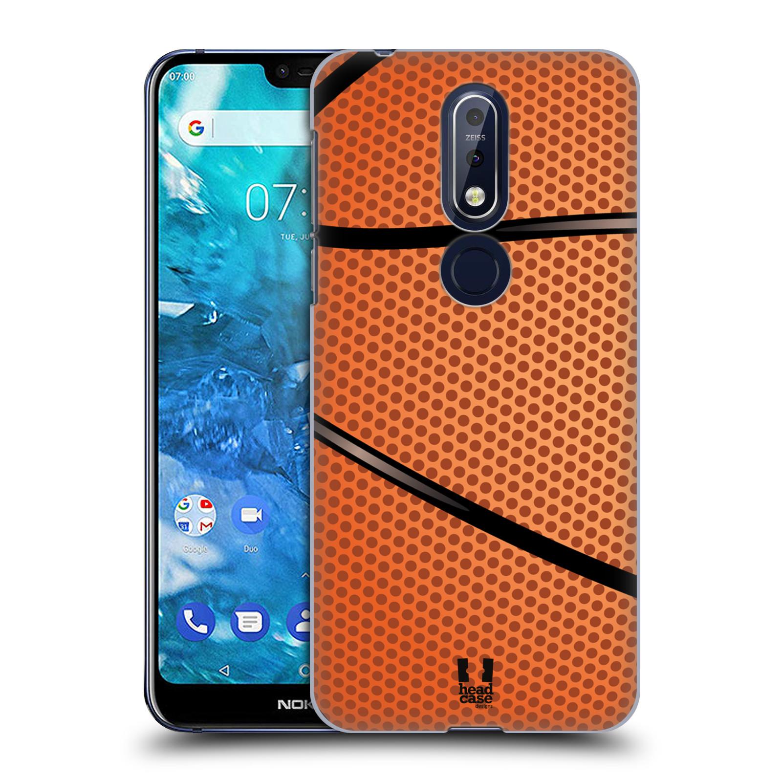 Plastové pouzdro na mobil Nokia 7.1 - Head Case - BASKEŤÁK