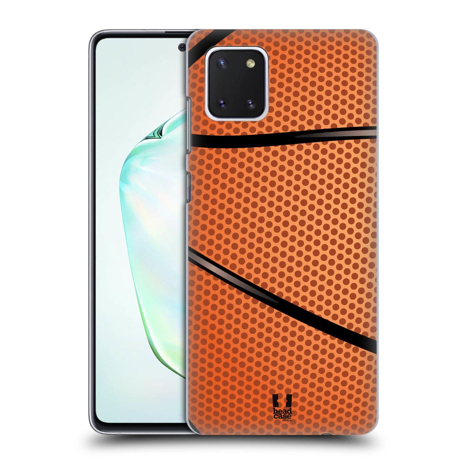Plastové pouzdro na mobil Samsung Galaxy Note 10 Lite - Head Case - BASKEŤÁK