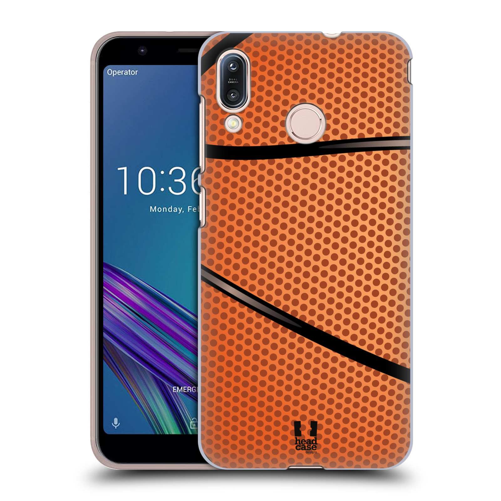 Plastové pouzdro na mobil Asus Zenfone Max M1 ZB555KL - Head Case - BASKEŤÁK