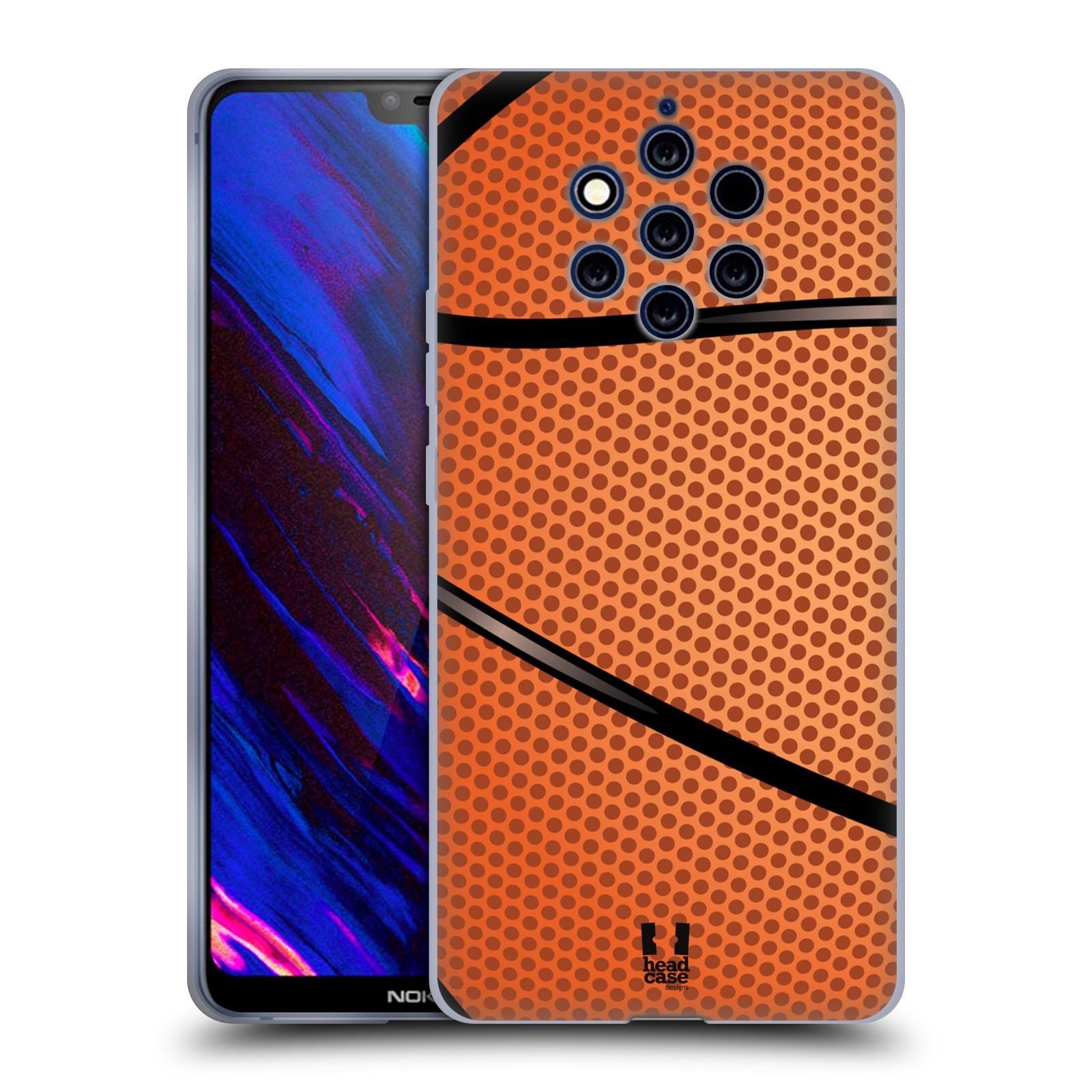 Silikonové pouzdro na mobil Nokia 9 PureView - Head Case - BASKEŤÁK