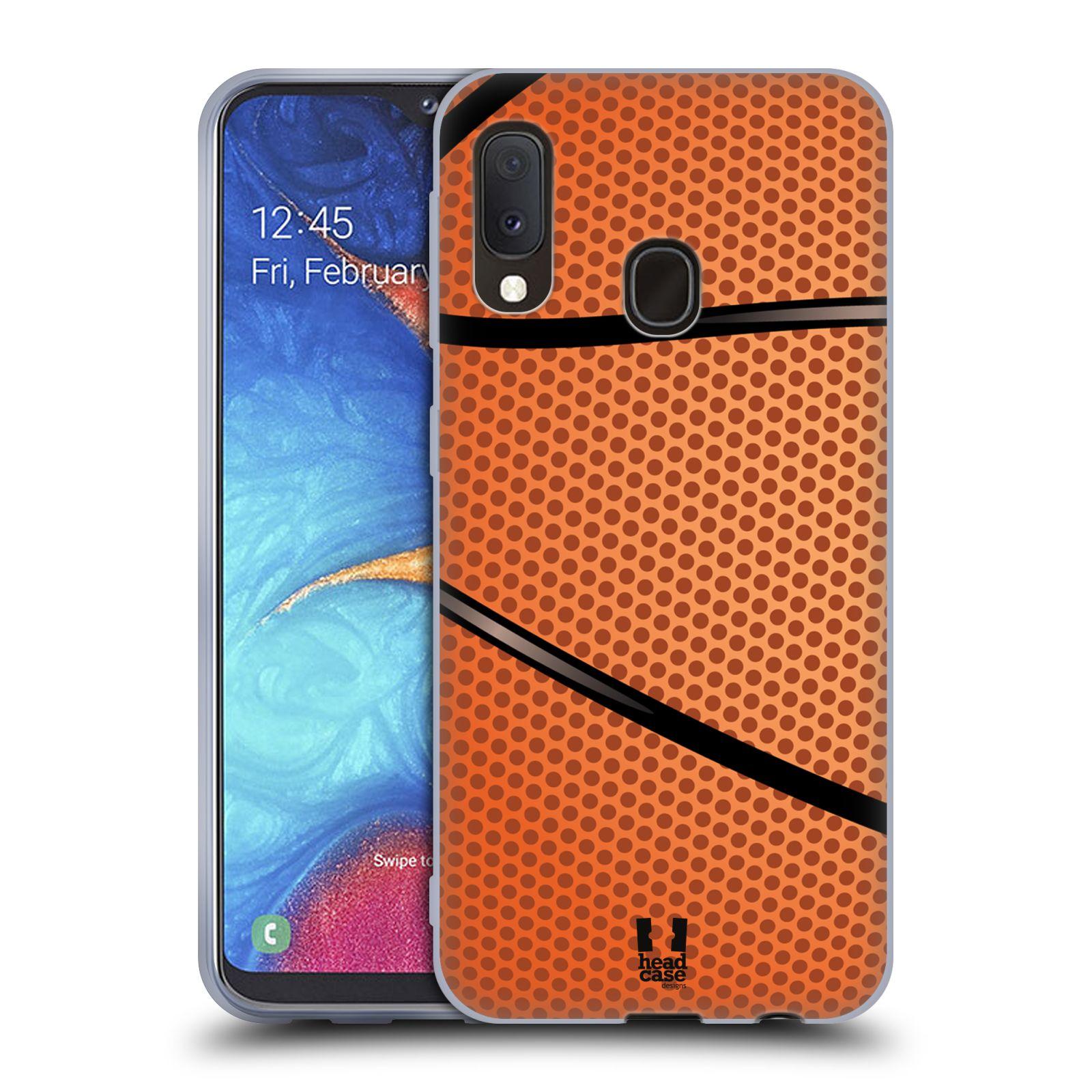 Silikonové pouzdro na mobil Samsung Galaxy A20e - Head Case - BASKEŤÁK