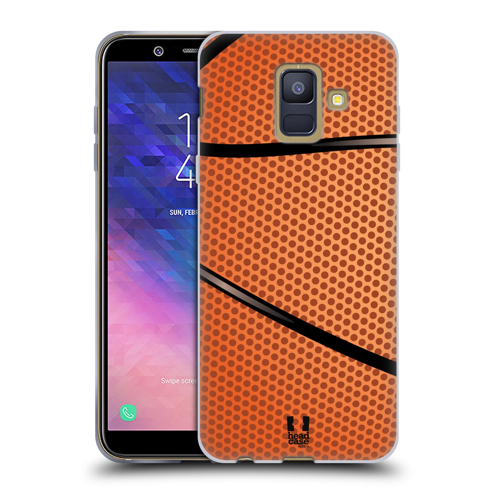 Silikonové pouzdro na mobil Samsung Galaxy A6 (2018) - Head Case - BASKEŤÁK
