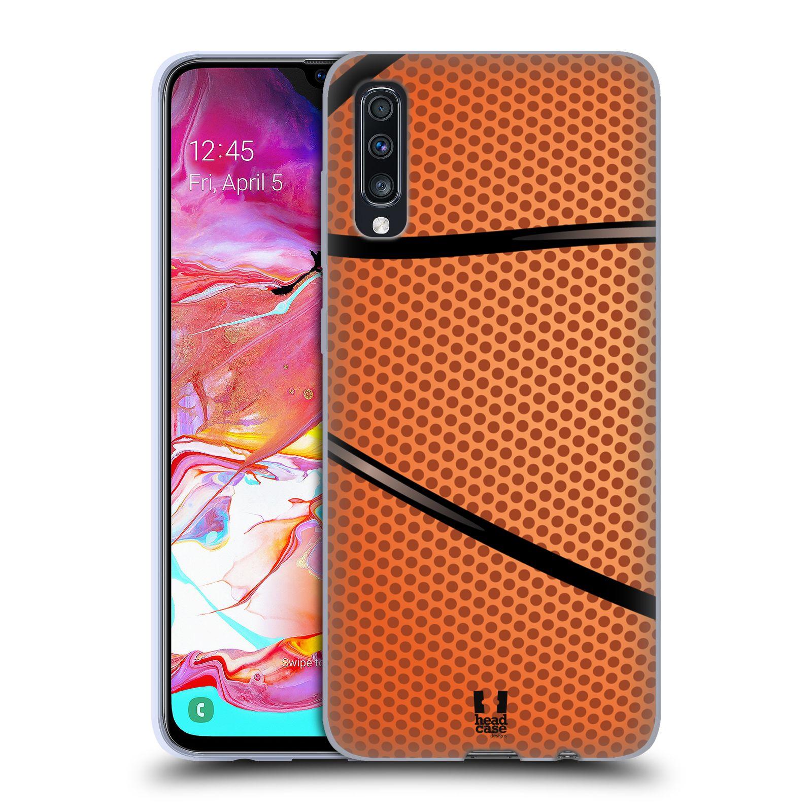 Silikonové pouzdro na mobil Samsung Galaxy A70 - Head Case - BASKEŤÁK