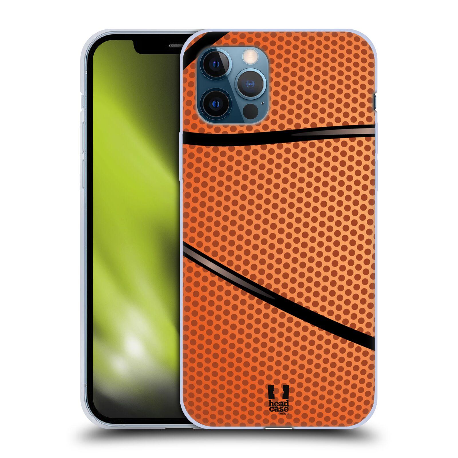 Silikonové pouzdro na mobil Apple iPhone 12 / 12 Pro - Head Case - BASKEŤÁK