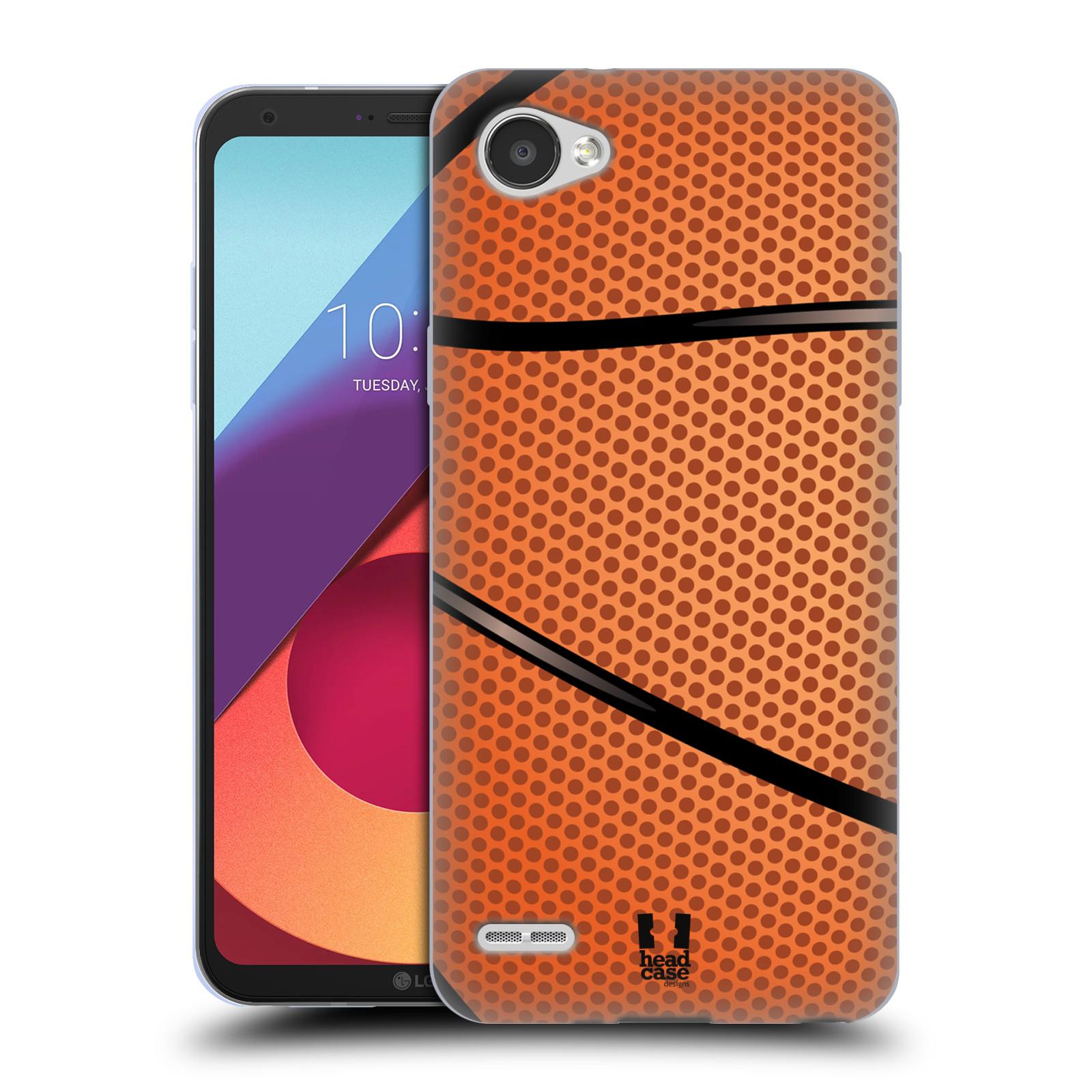 Silikonové pouzdro na mobil LG Q6 - Head Case - BASKEŤÁK