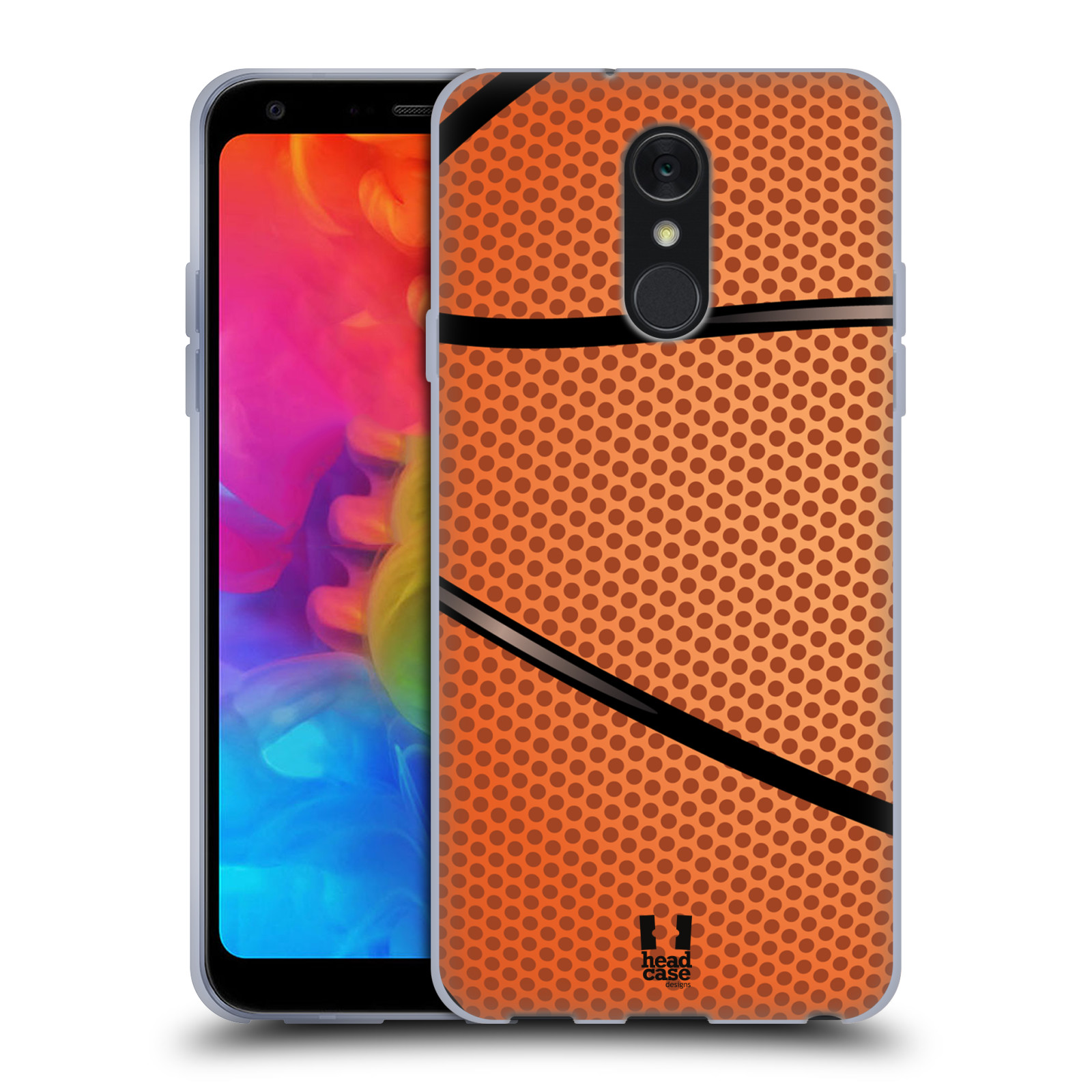 Silikonové pouzdro na mobil LG Q7 - Head Case - BASKEŤÁK