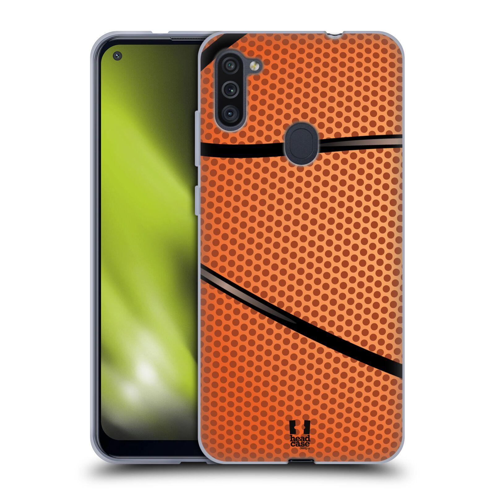 Silikonové pouzdro na mobil Samsung Galaxy M11 - Head Case - BASKEŤÁK