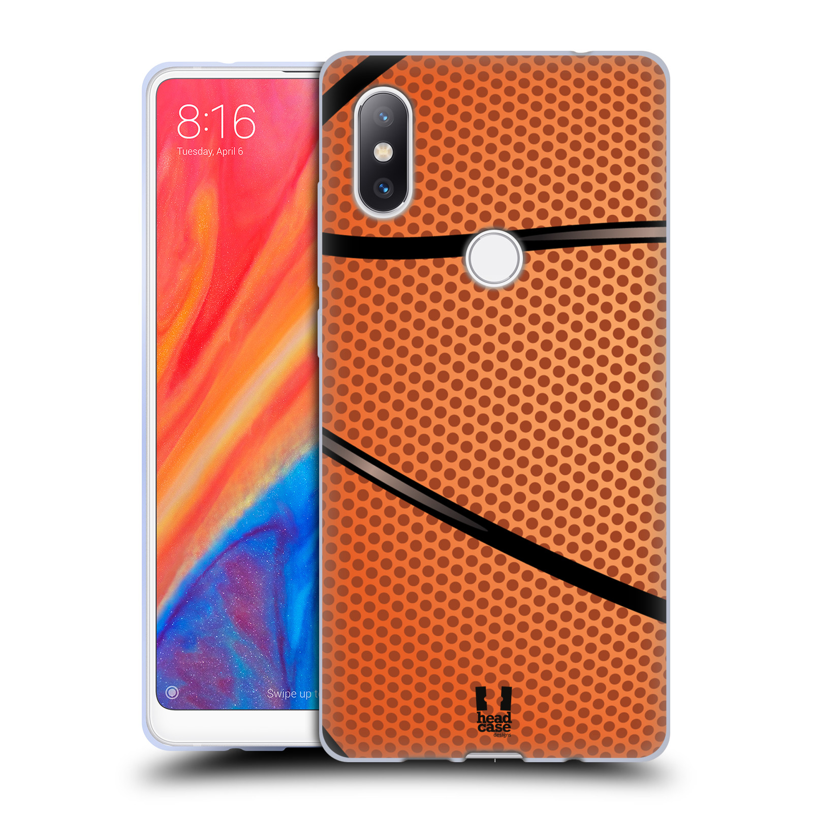 Silikonové pouzdro na mobil Xiaomi Mi Mix 2S - Head Case - BASKEŤÁK