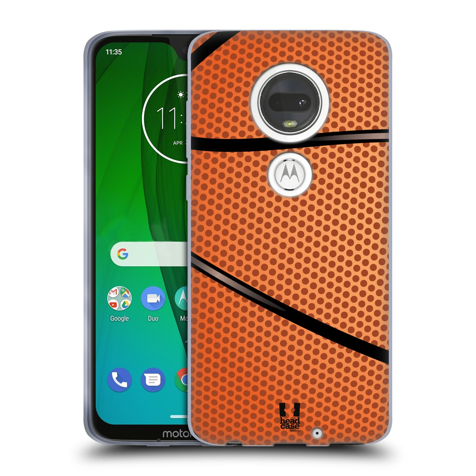 Silikonové pouzdro na mobil Motorola Moto G7 - Head Case - BASKEŤÁK