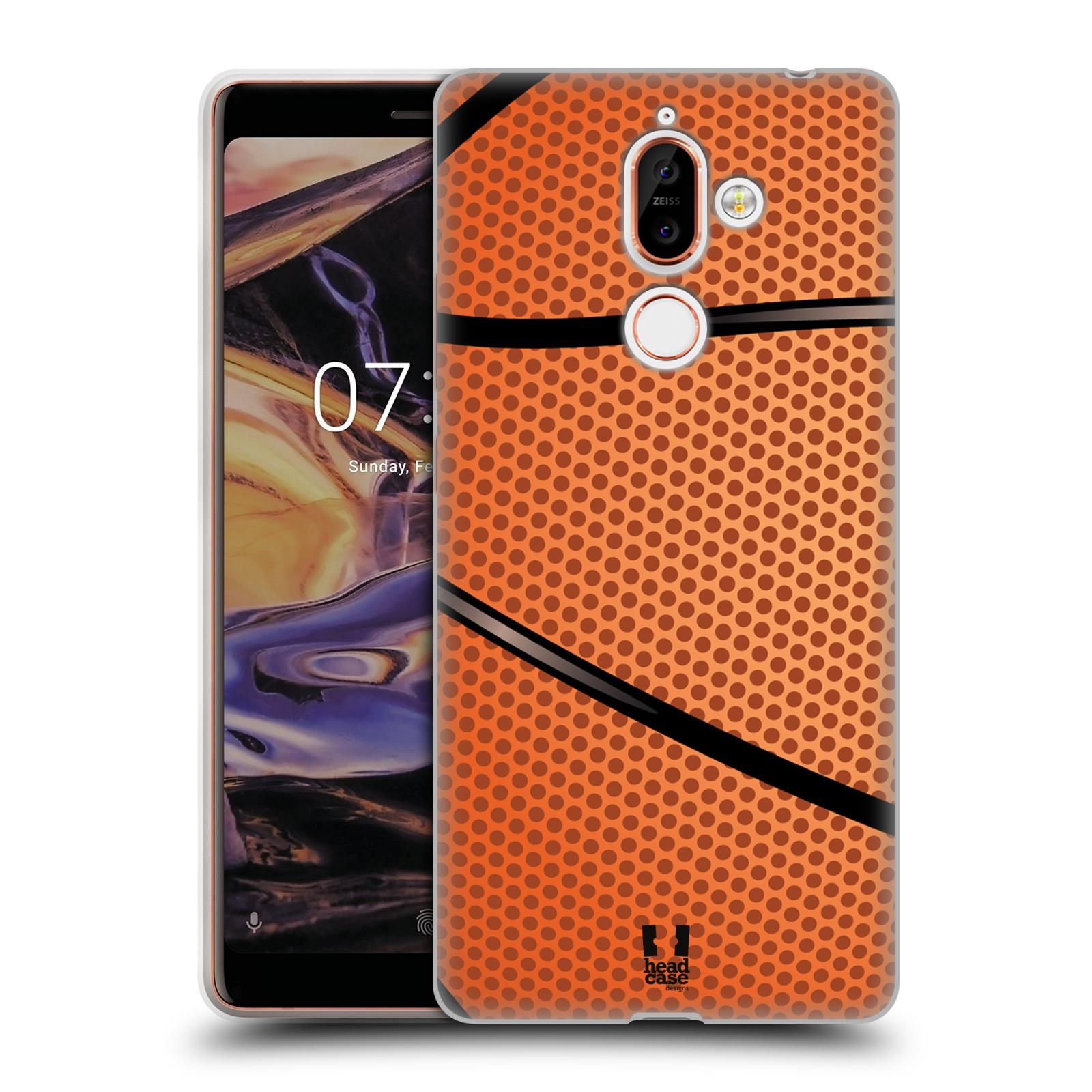 Silikonové pouzdro na mobil Nokia 7 Plus - Head Case - BASKEŤÁK